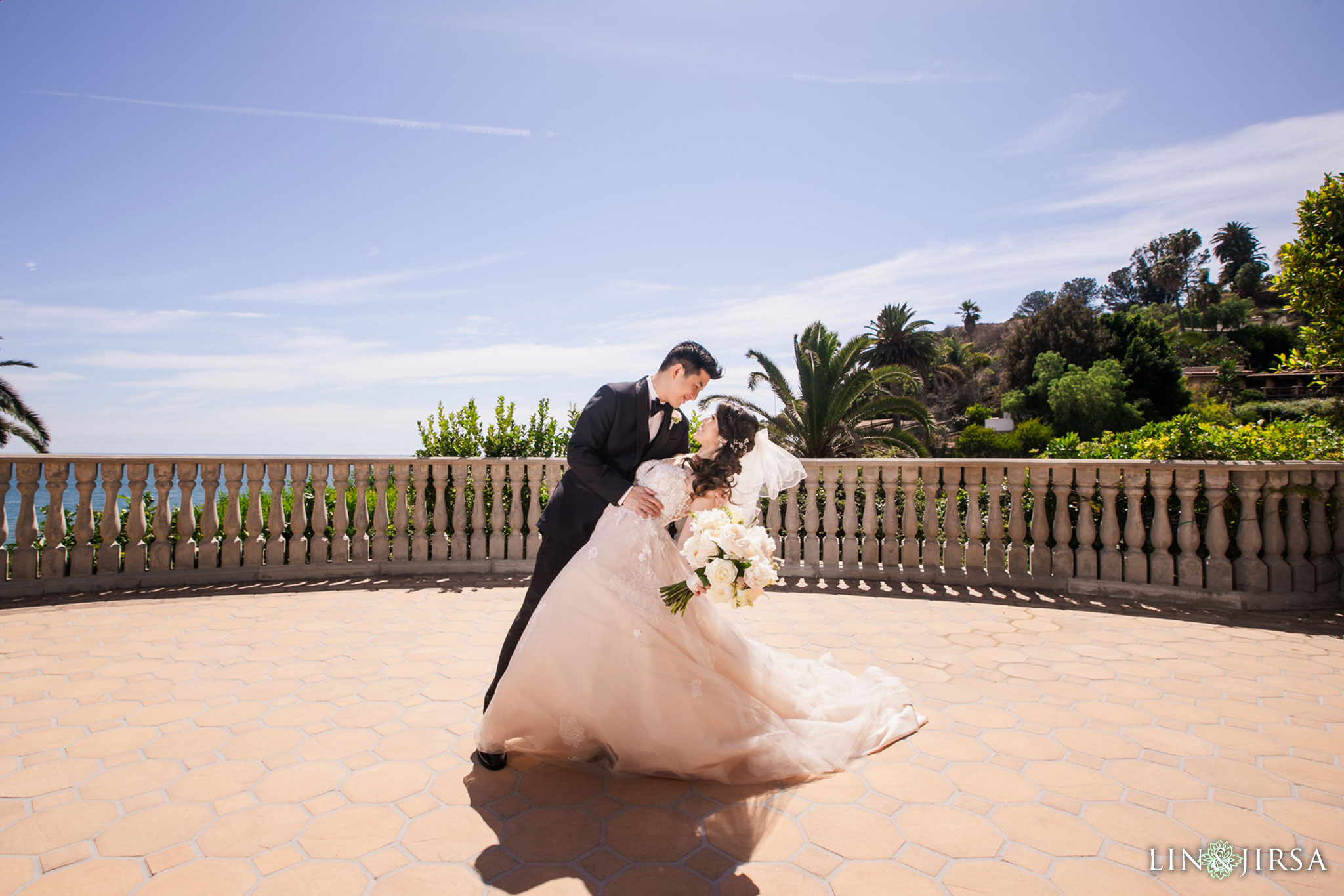 18 bel air bay club malibu wedding bride groom photography