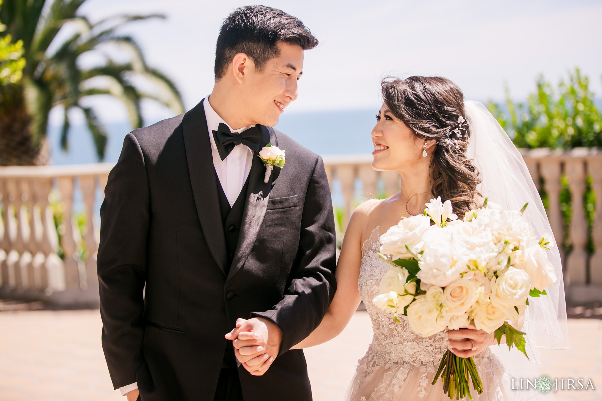 19 bel air bay club malibu wedding couple photography