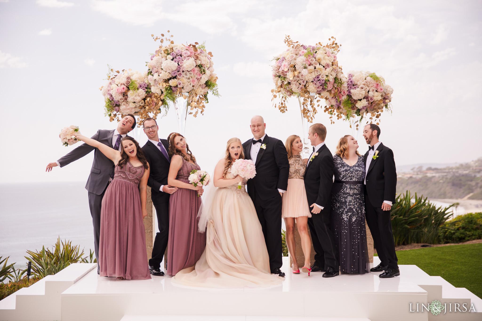20 ritz carlton laguna niguel wedding party photography