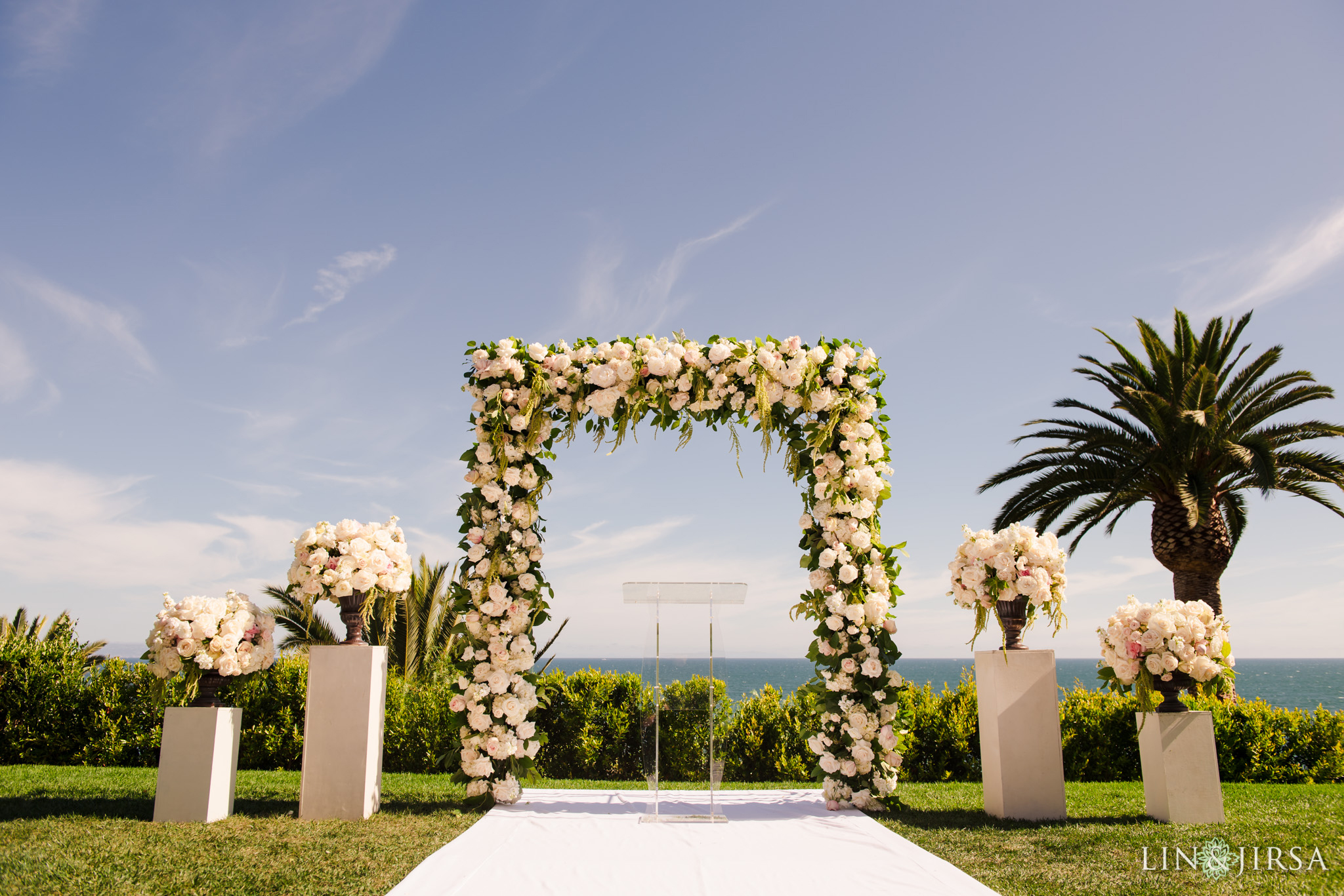 22 bel air bay club malibu wedding ceremony photography