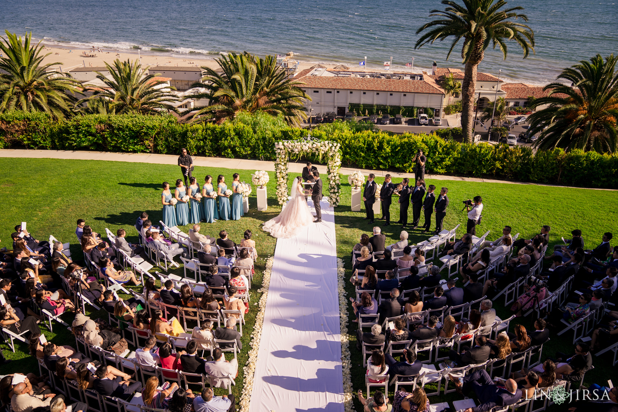 27 bel air bay club malibu wedding ceremony photography