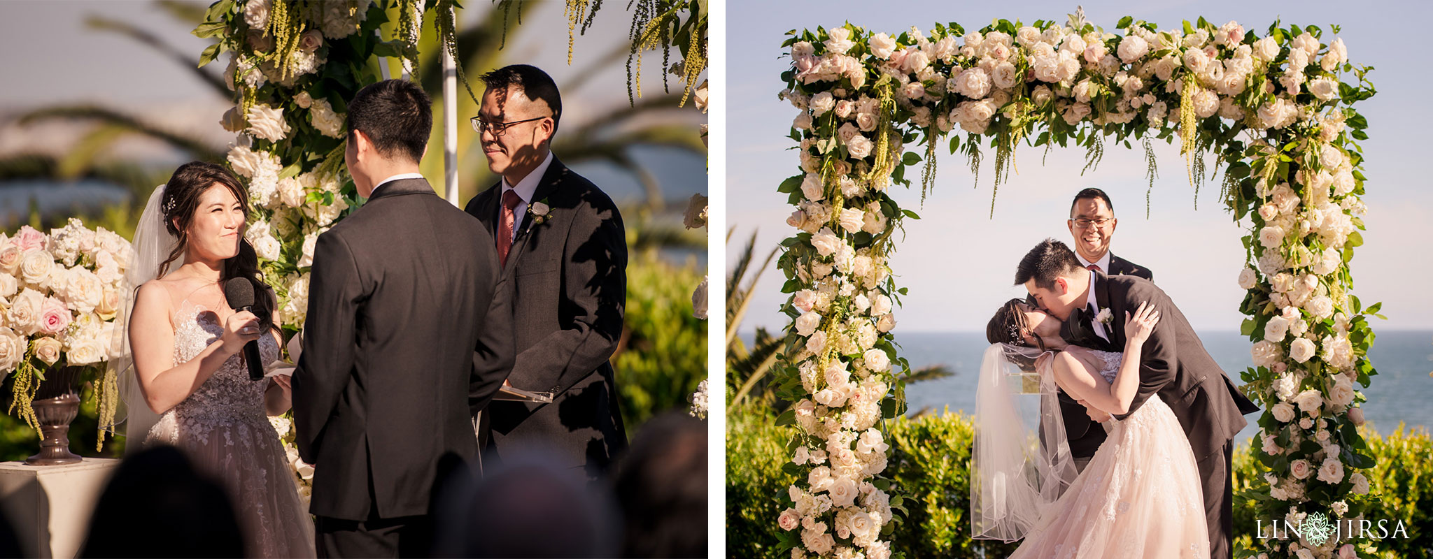 28 bel air bay club malibu wedding ceremony photography