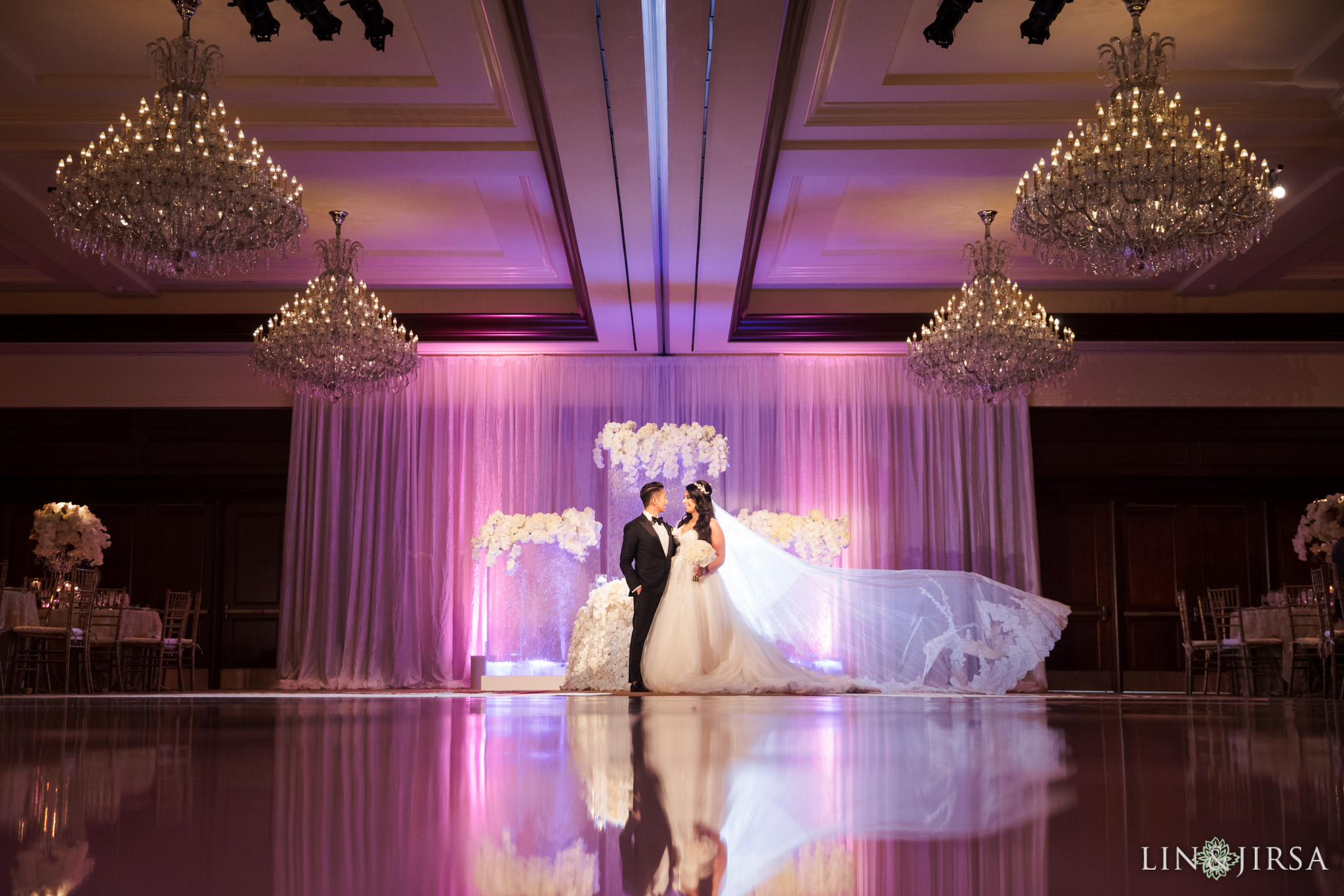 28 four seasons westlake village wedding reception photography