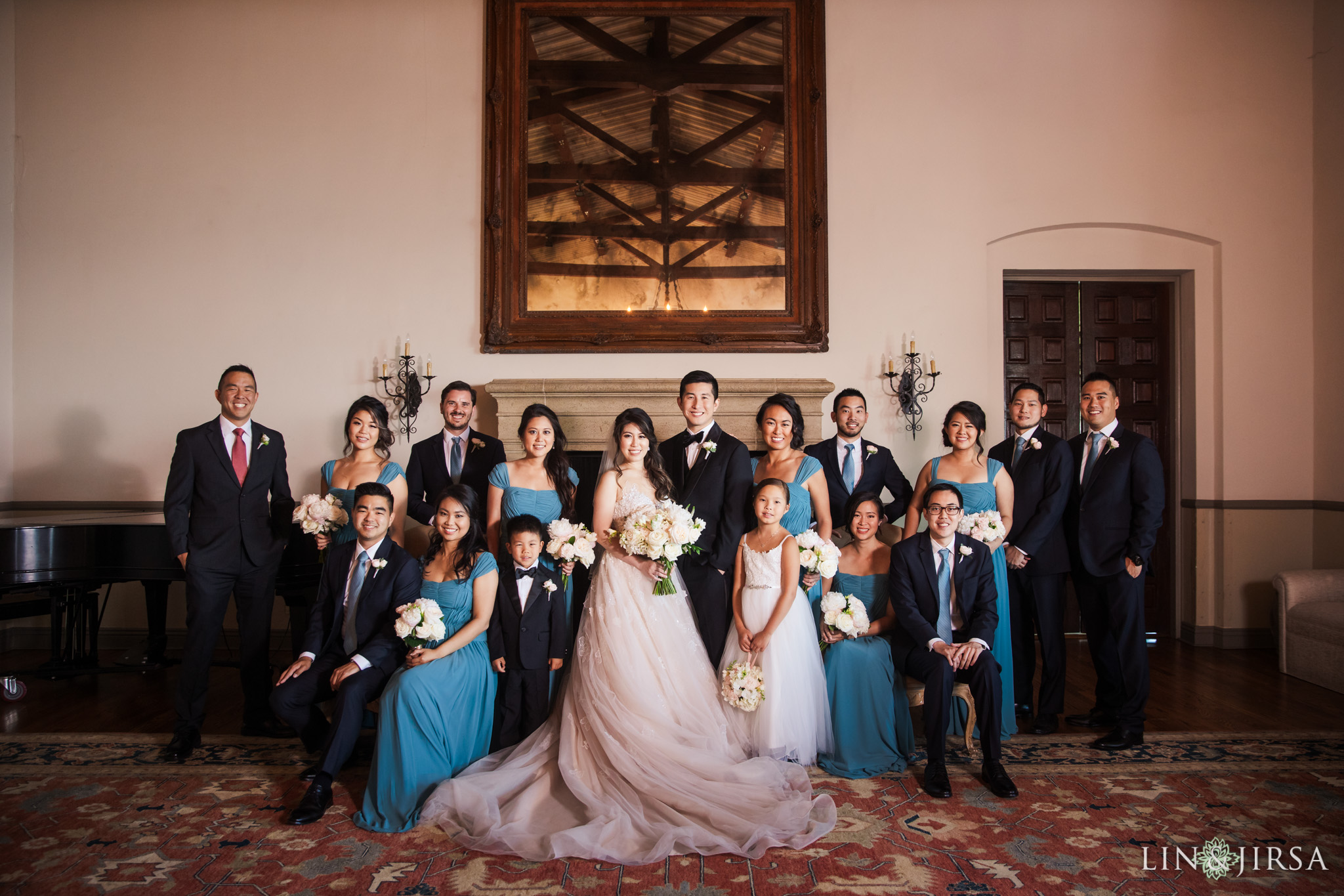 38 bel air bay club malibu wedding party photography