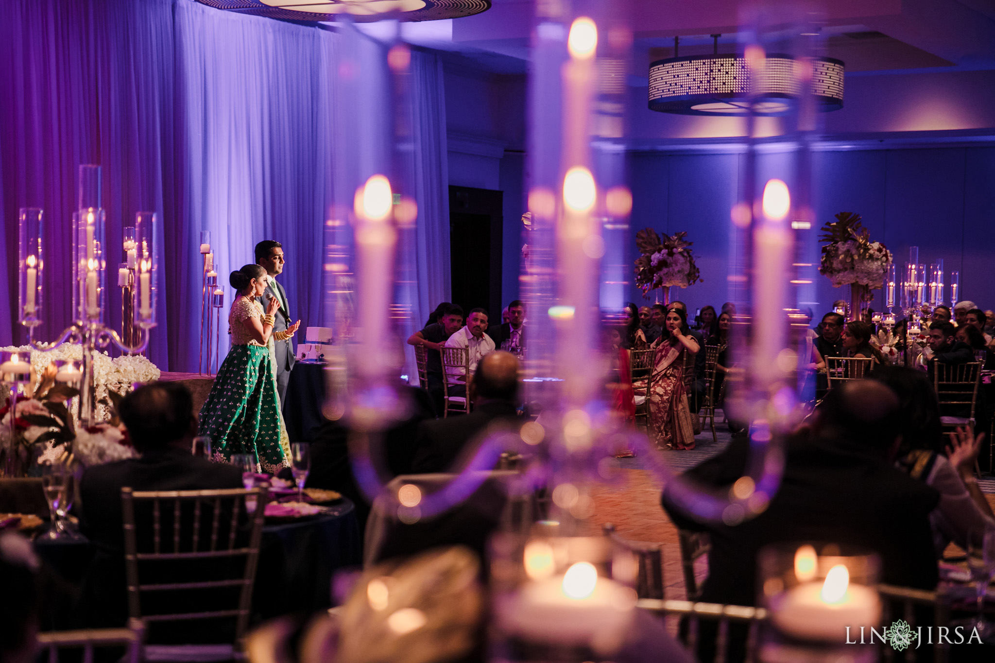44 marriott santa clara indian wedding reception photography
