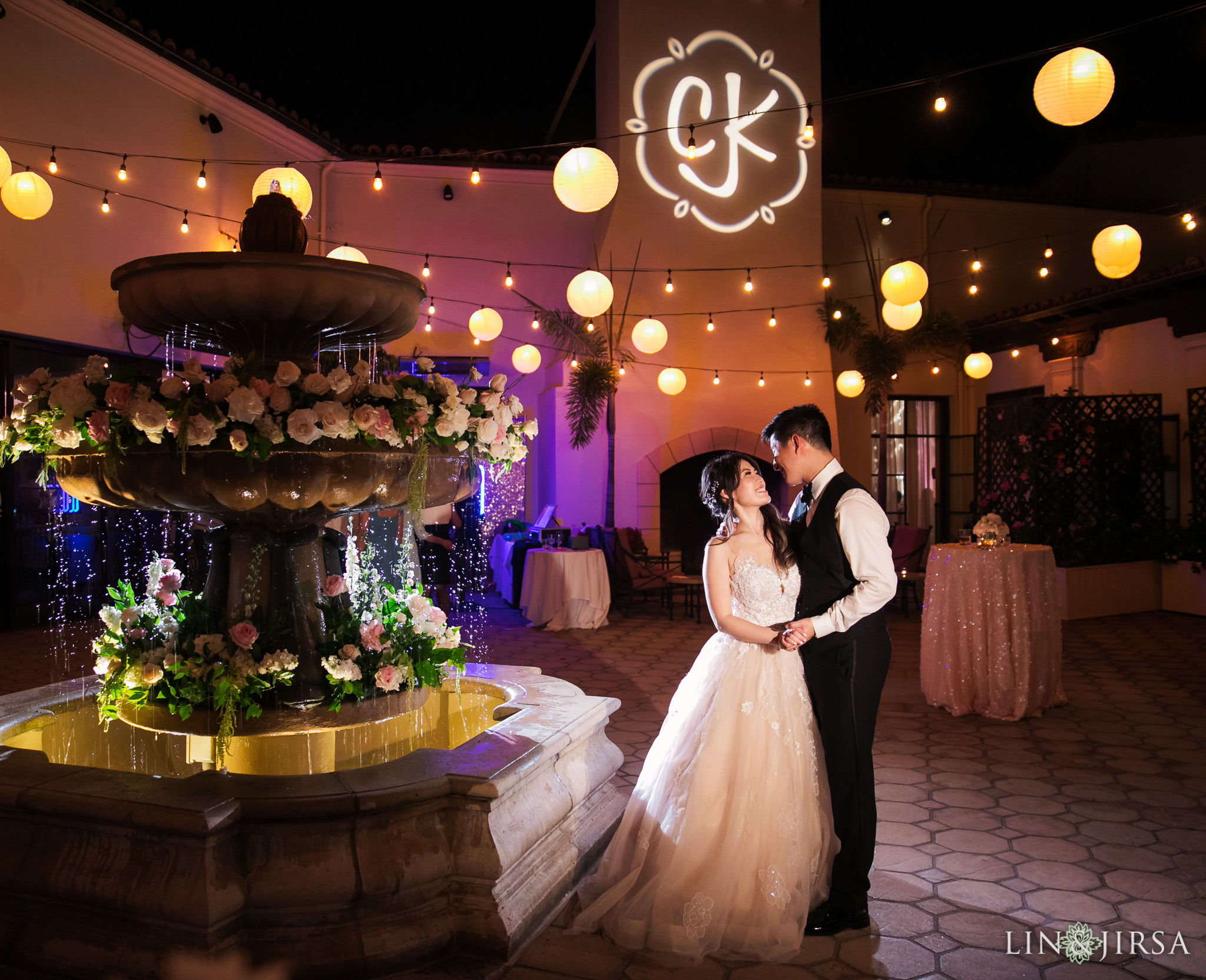 54 bel air bay club malibu night wedding photography