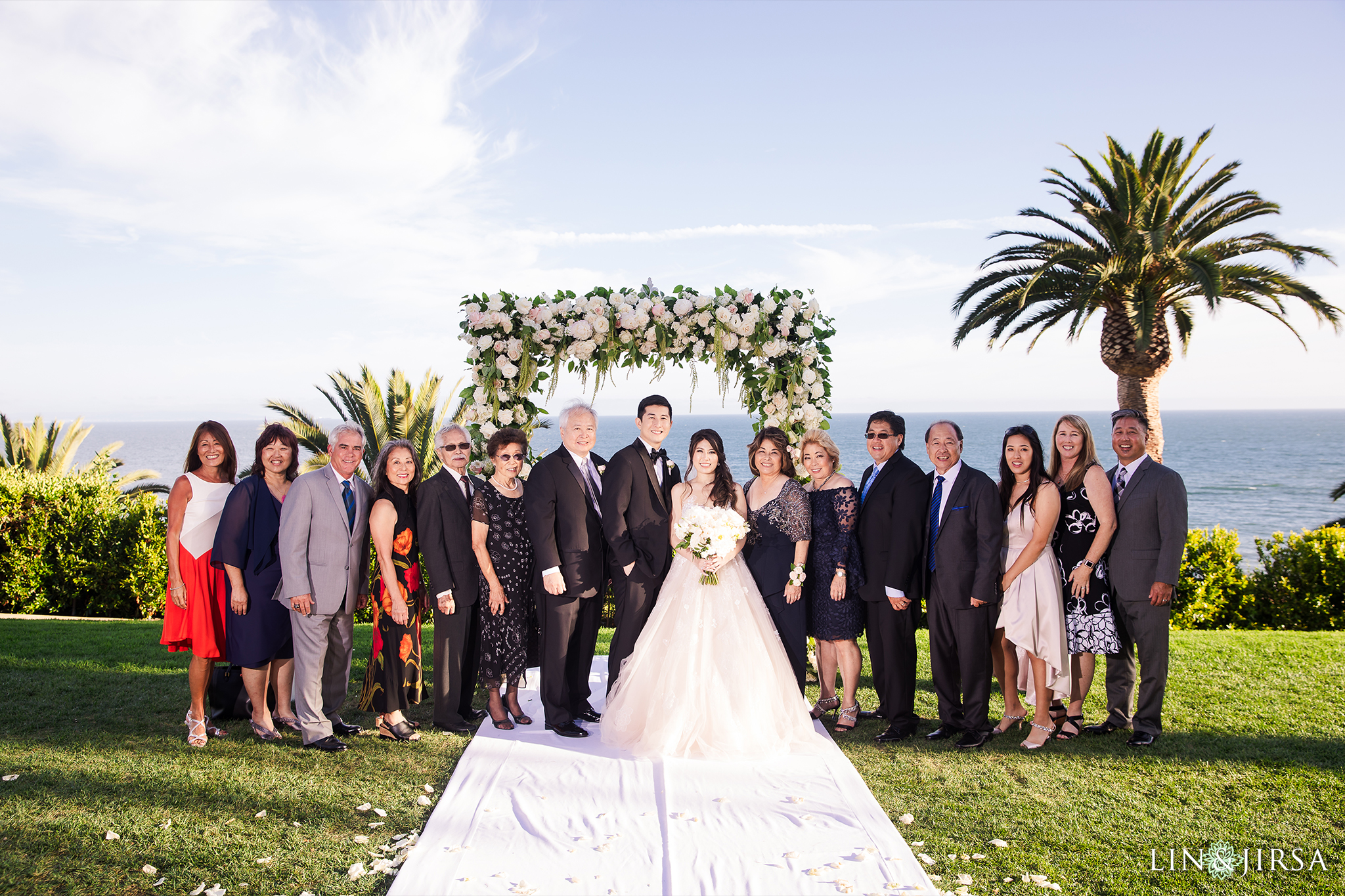 Family Photo Bel Air Bay Club Los Angeles Wedding Photography