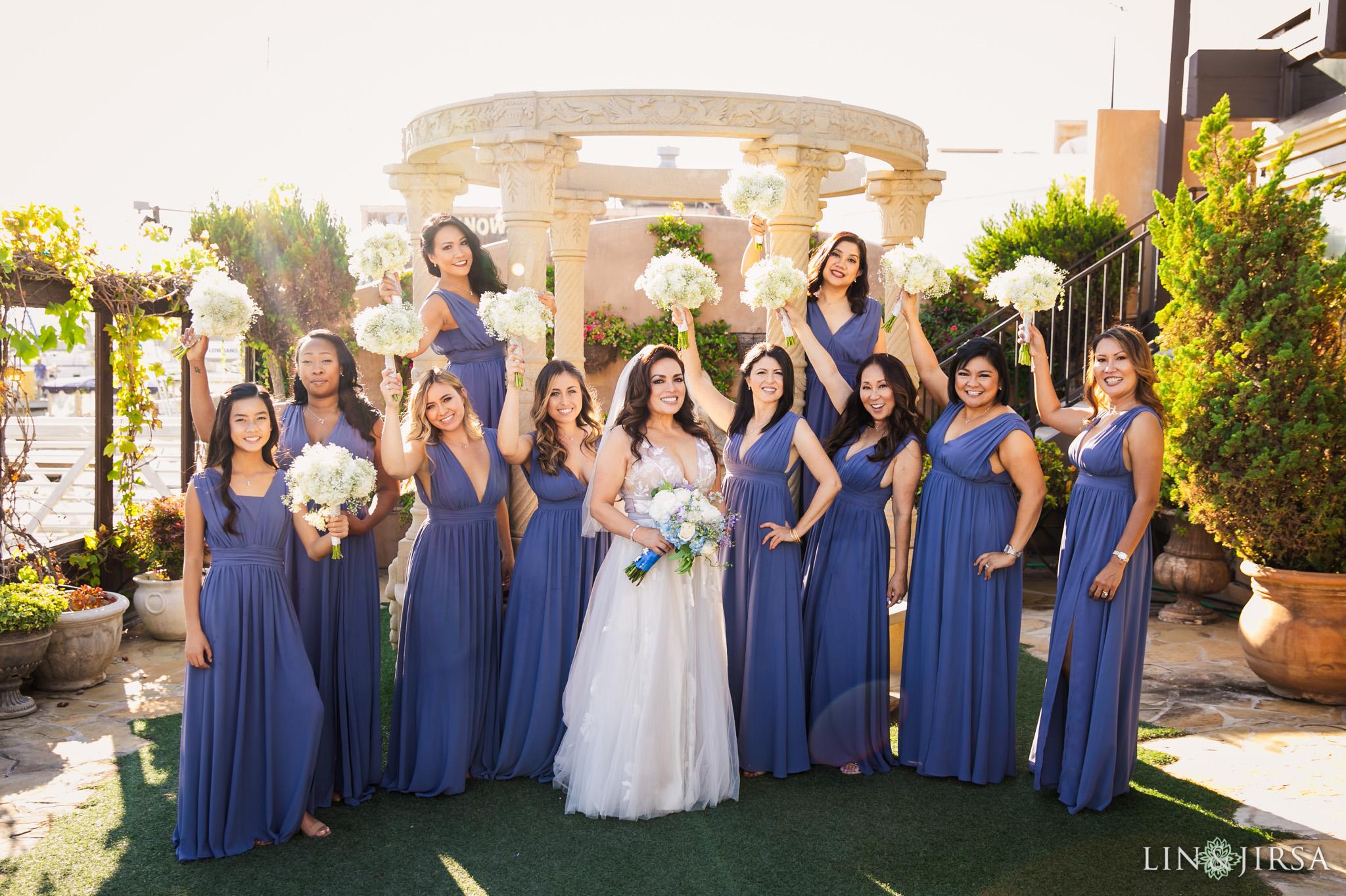 004 orange county bridesmaids wedding photography