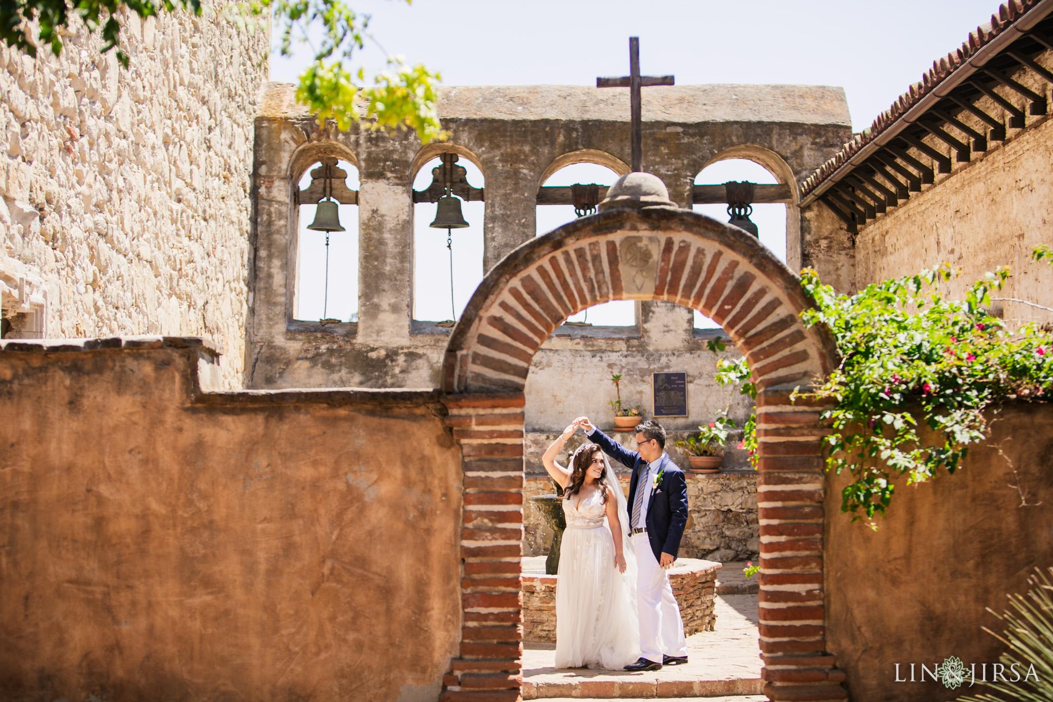 007 mission basilica san juan capistrano wedding photography