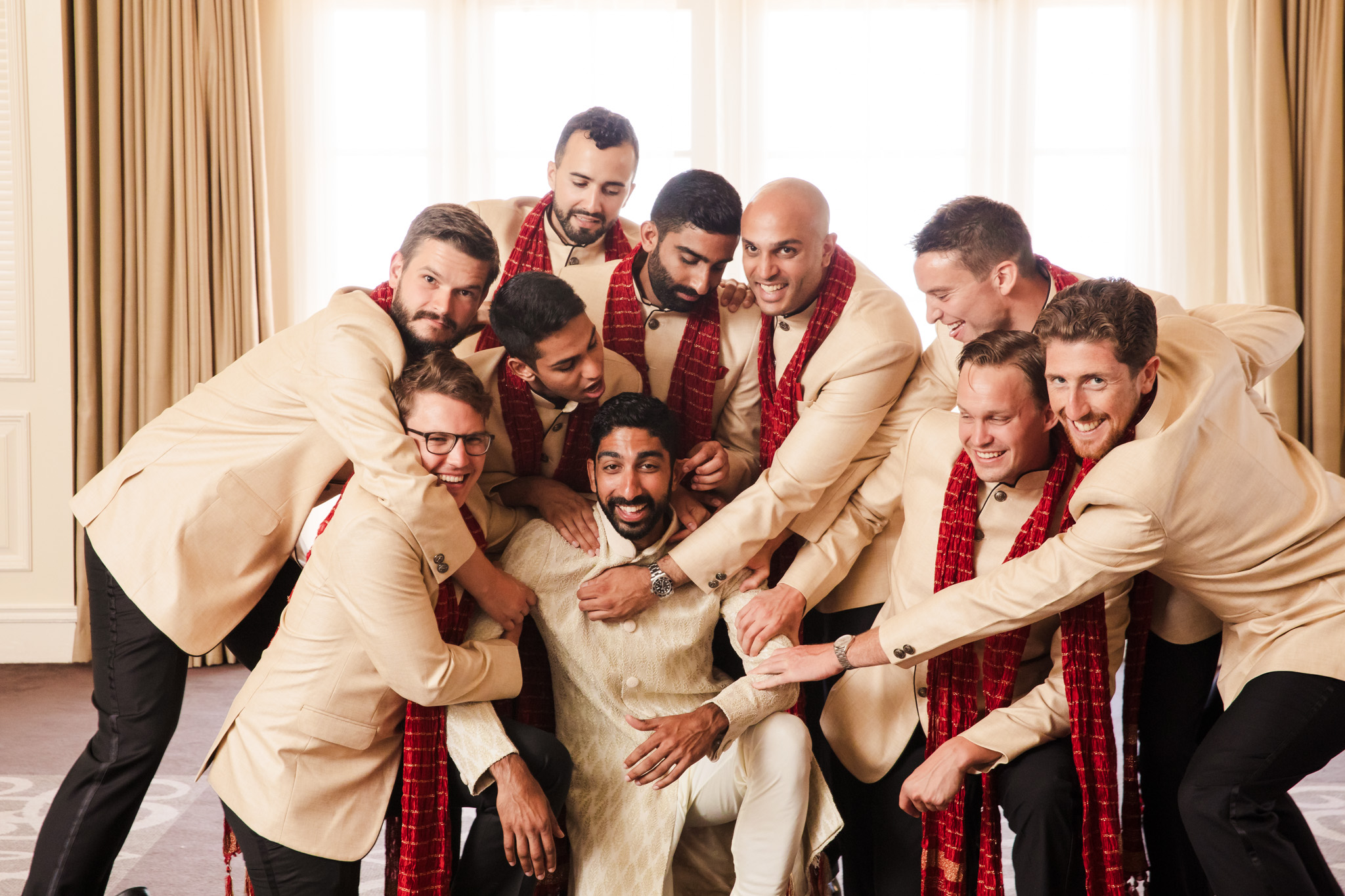 007 ritz carlton laguna niguel indian groomsmen wedding photography