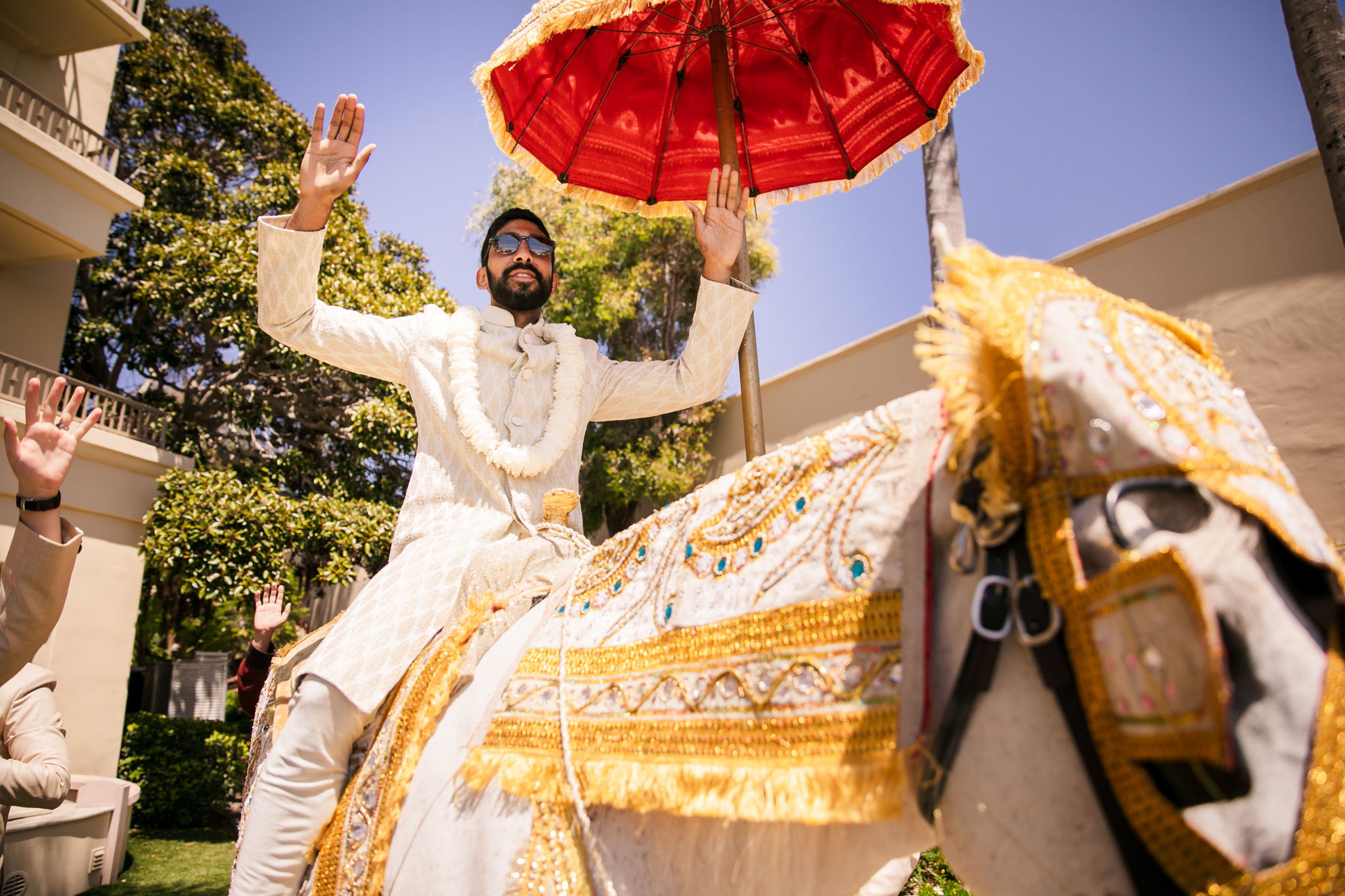 008 ritz carlton laguna niguel indian baraat wedding photography