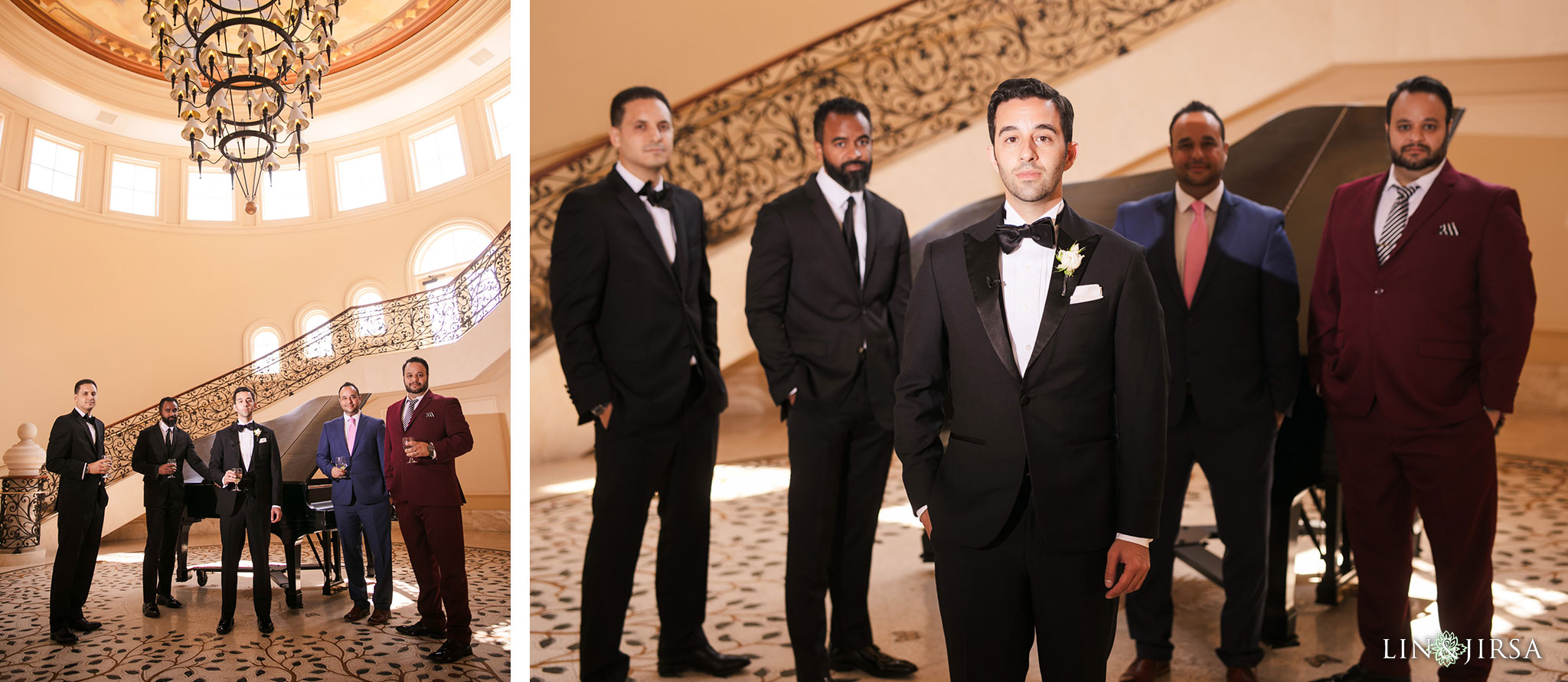 009 monarch beach resort dana point persian wedding groomsmen photography