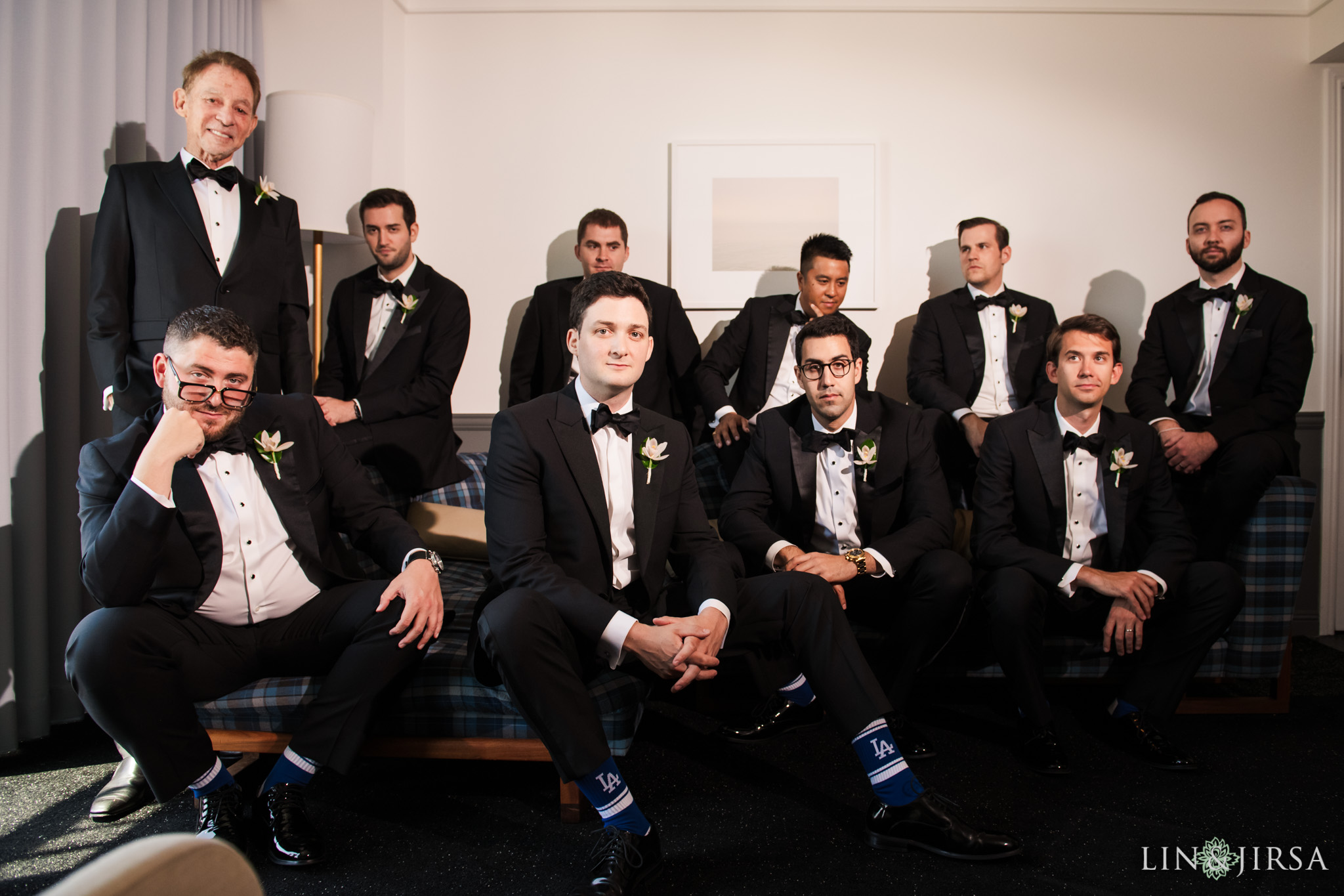 013 museum of art san diego groomsmen wedding photography