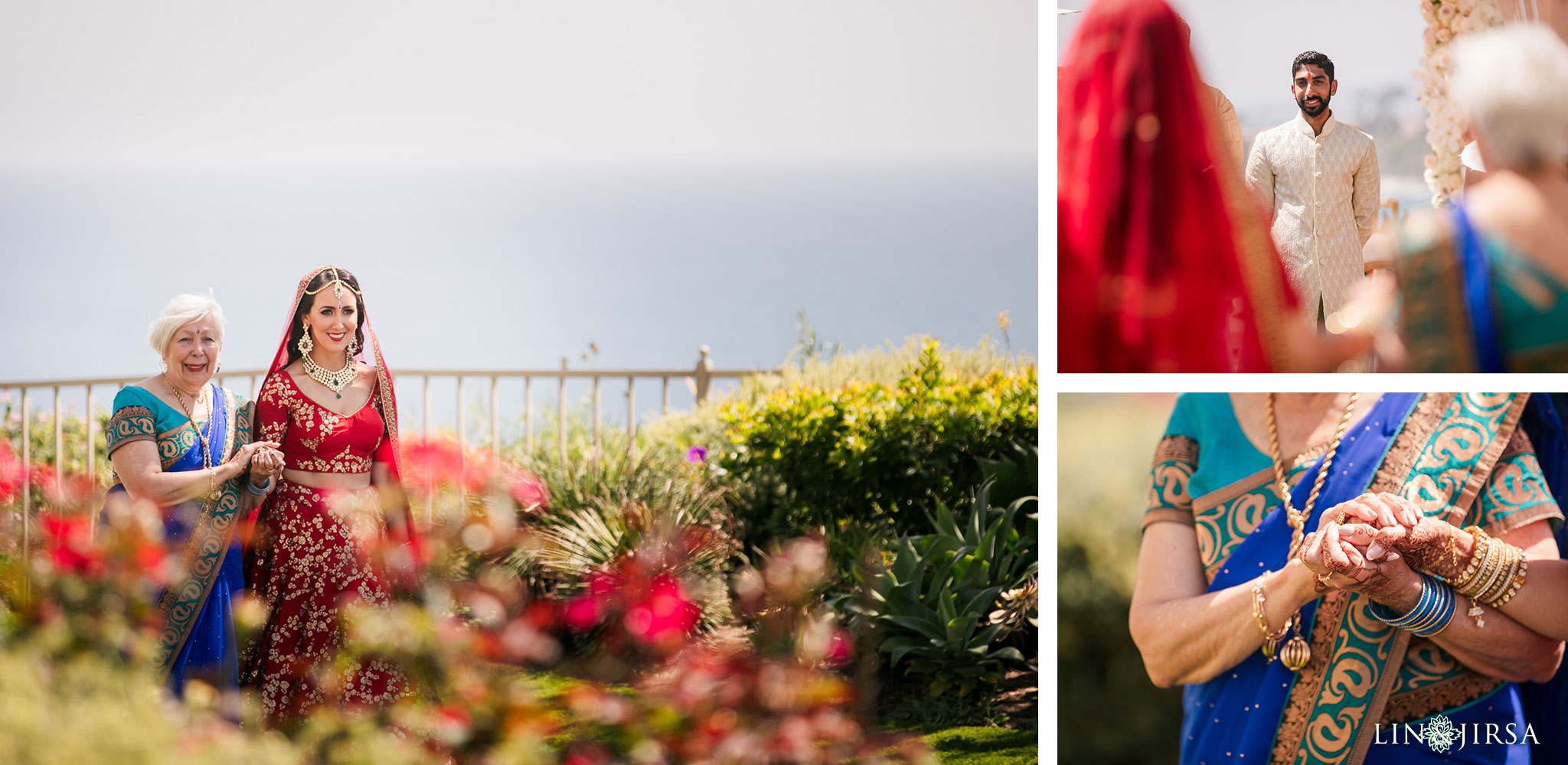 016 ritz carlton laguna niguel indian wedding ceremony photography