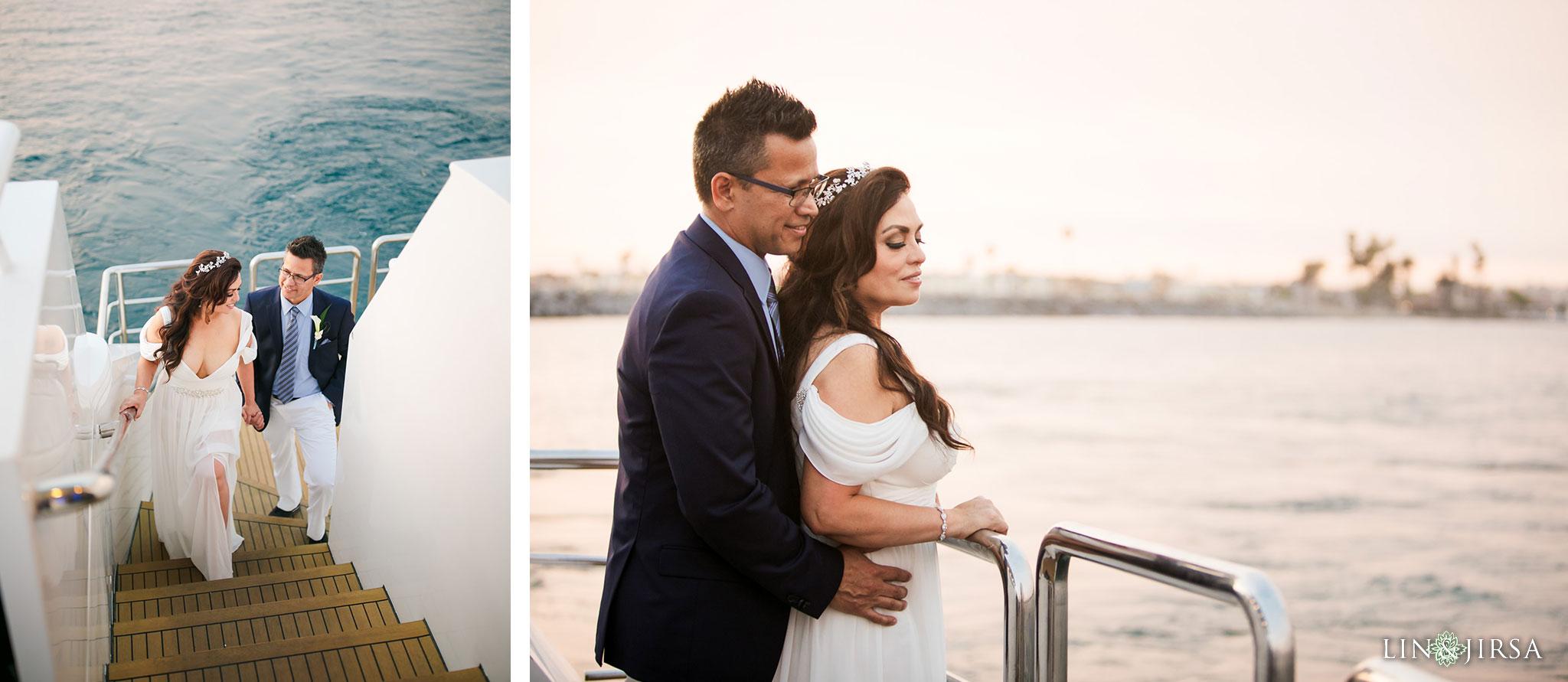 018 charter yachts newport beach wedding photography
