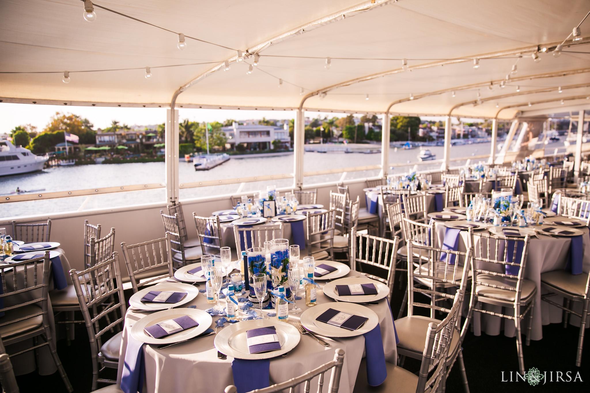 020 charter yachts newport beach wedding reception photography
