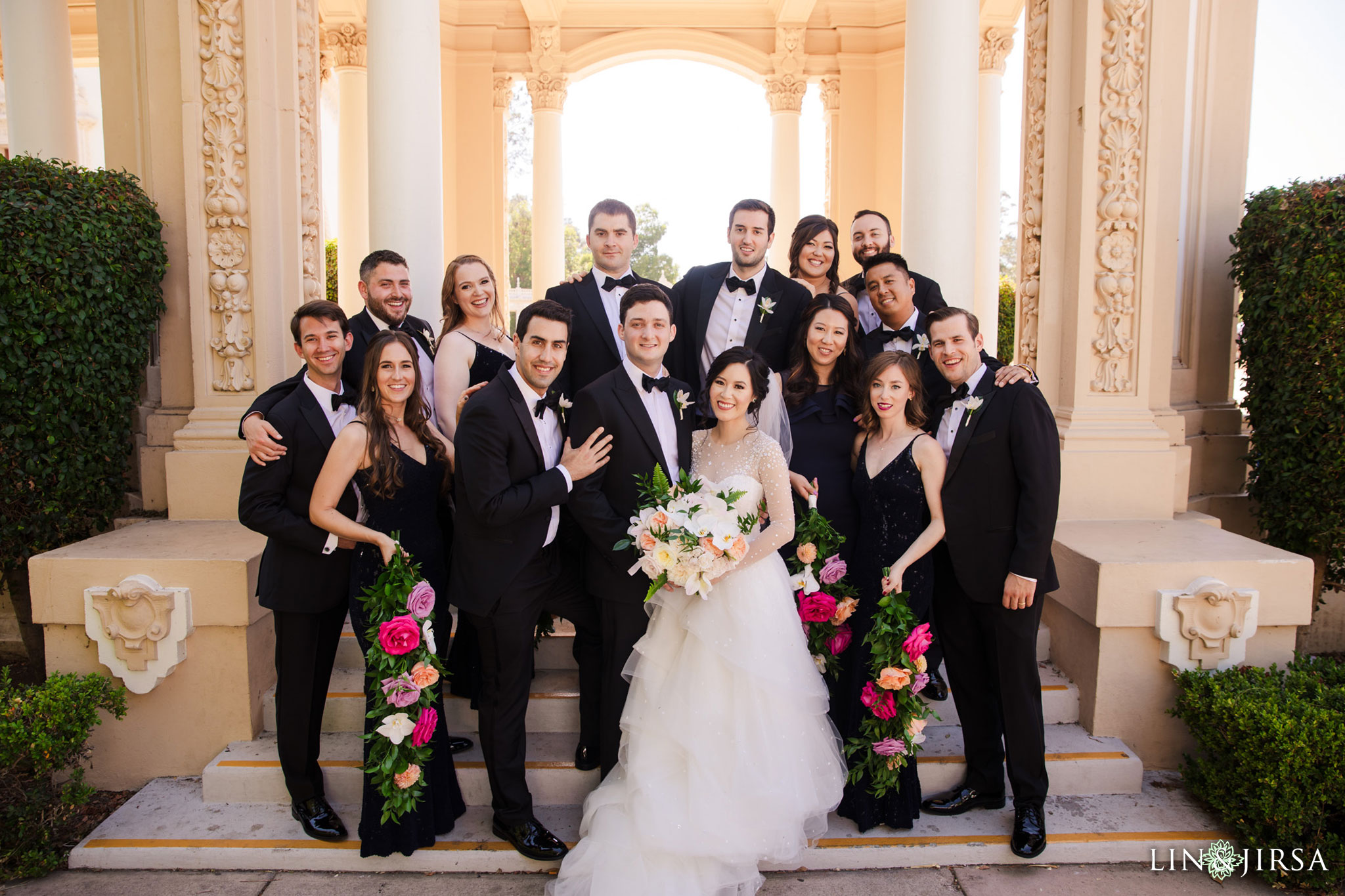 san diego wedding party photography