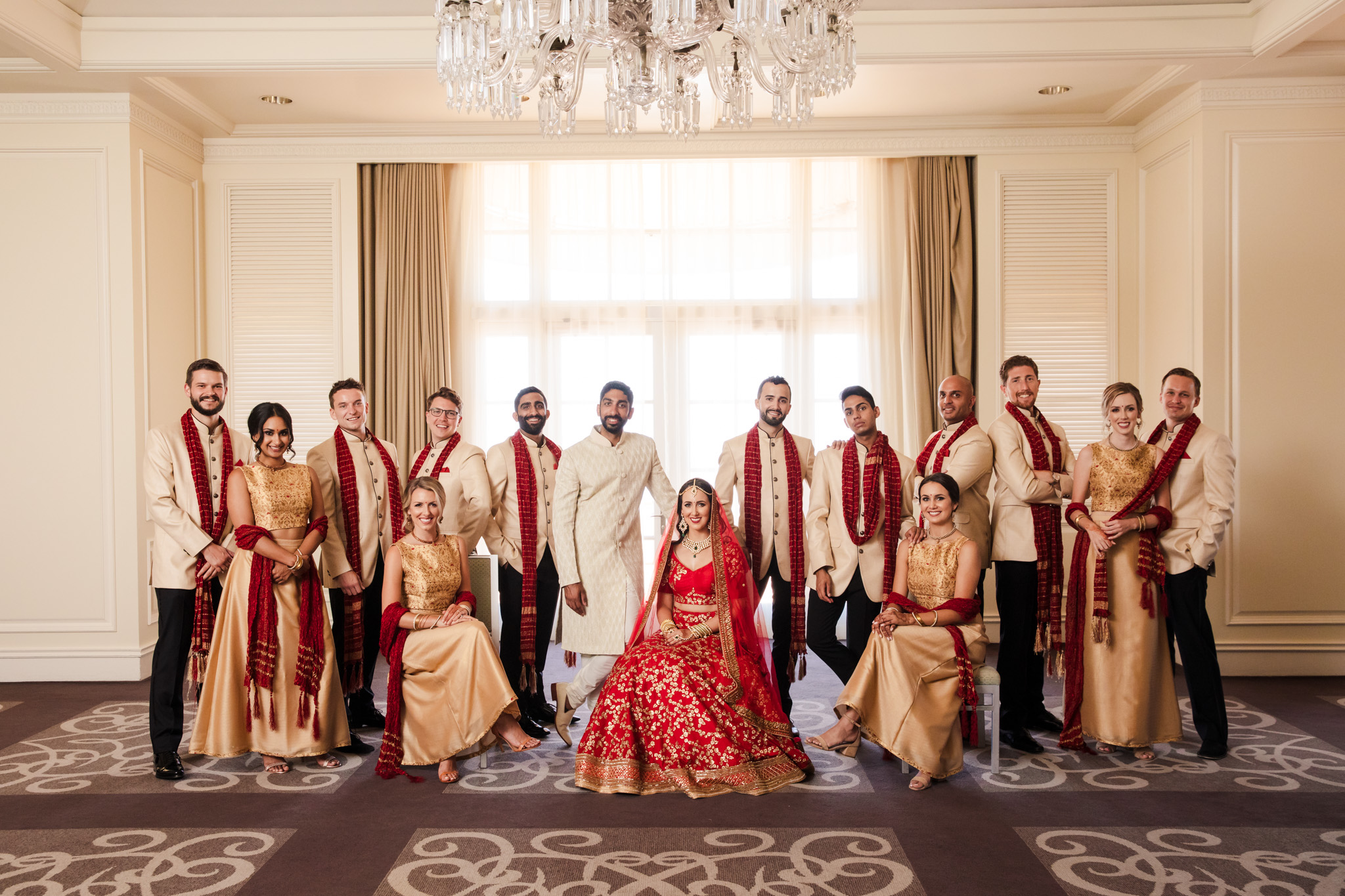 022 ritz carlton laguna niguel indian wedding party photography