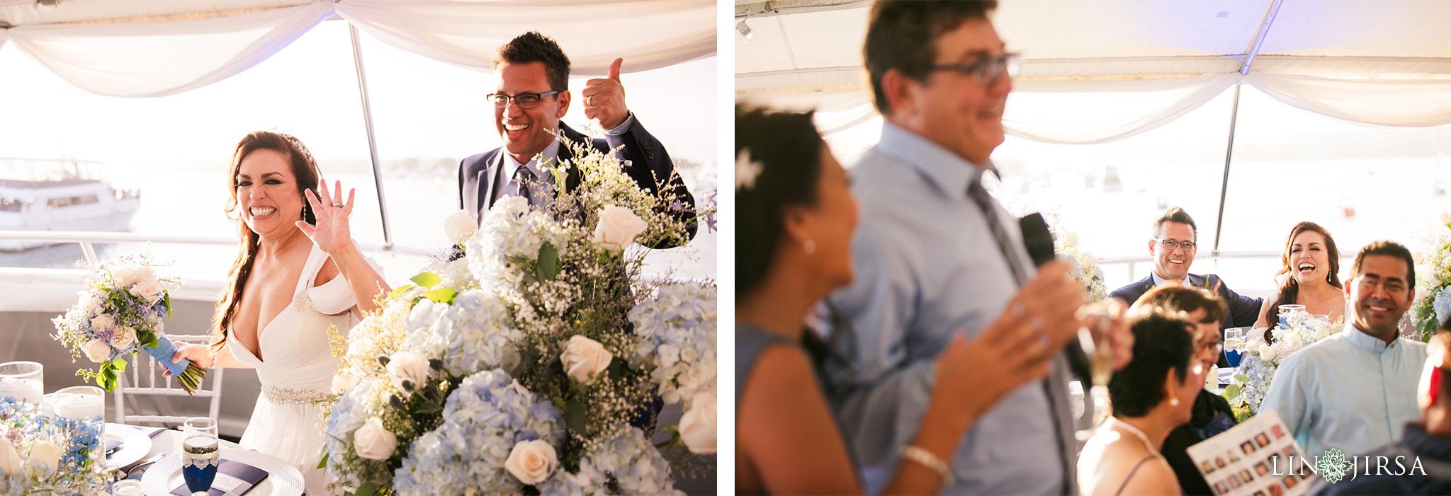 023 charter yachts newport beach wedding reception photography