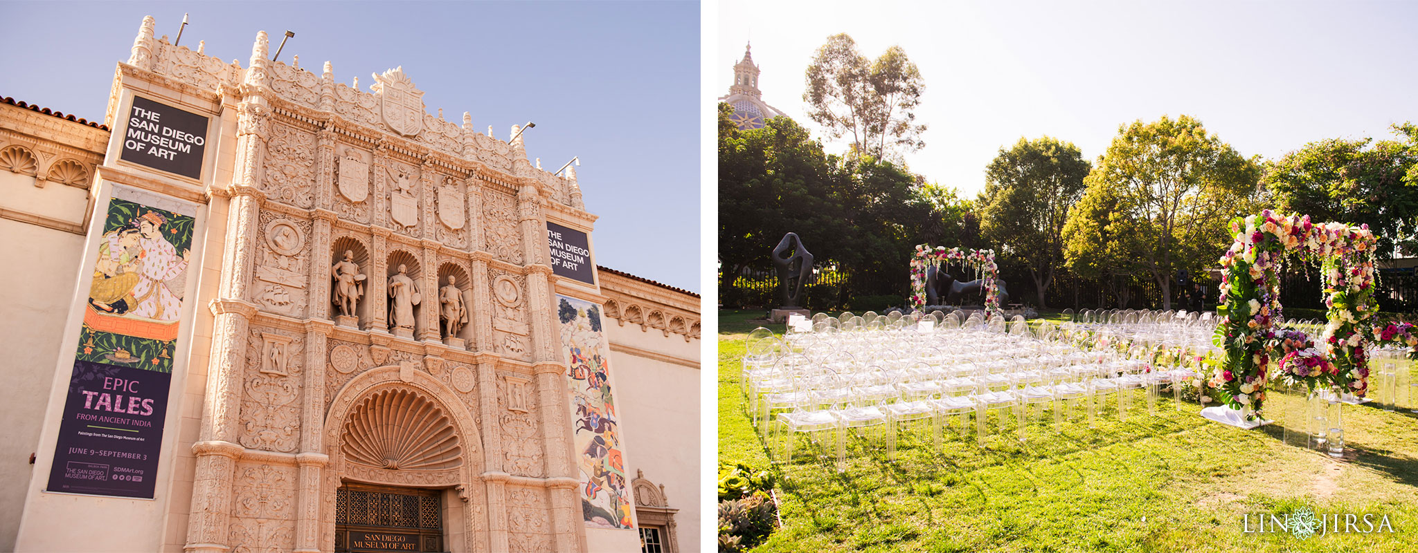 san diego museum of art architecture wedding ceremony photography