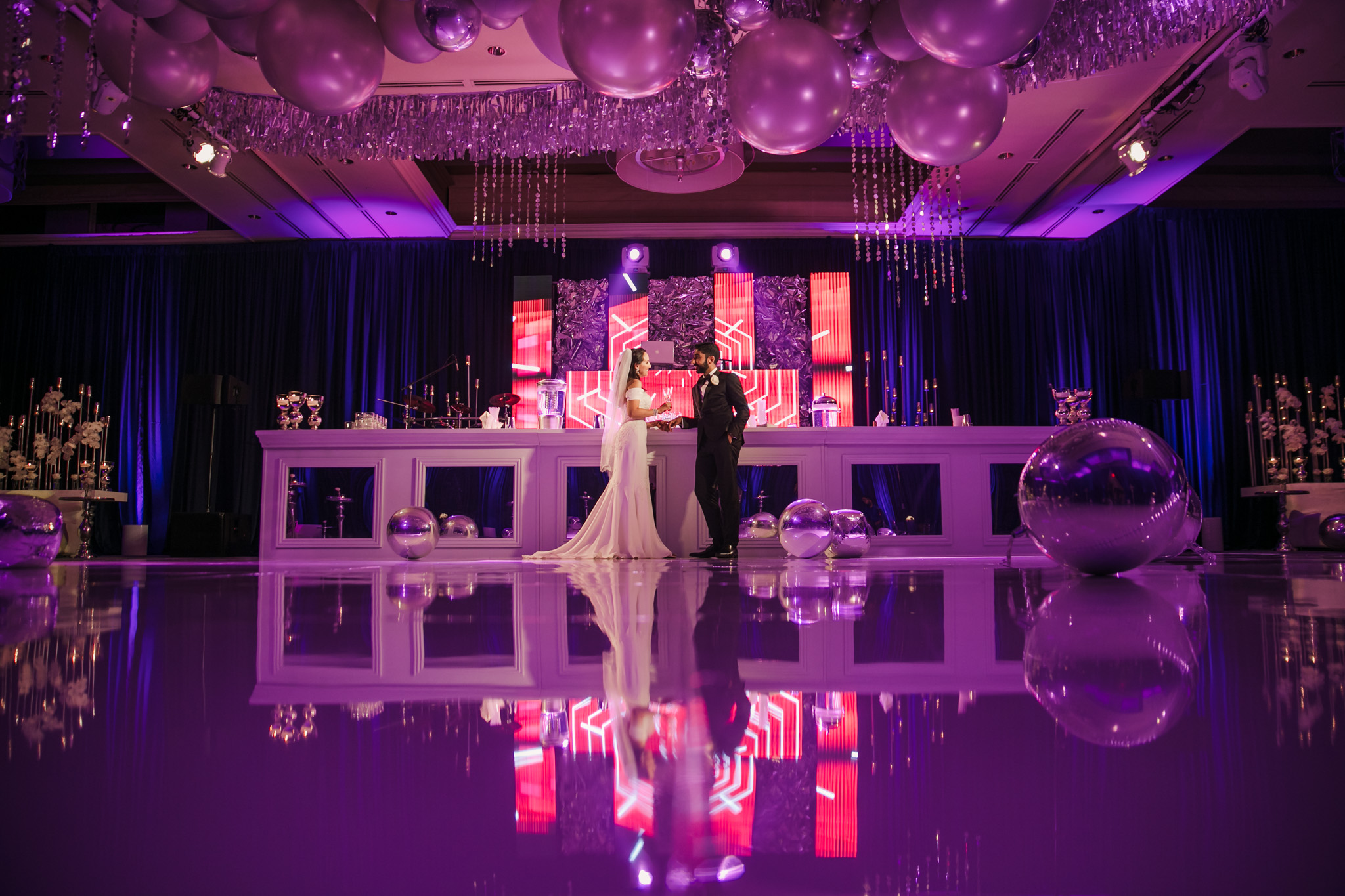 055 ritz carlton laguna niguel indian wedding purple reception photography