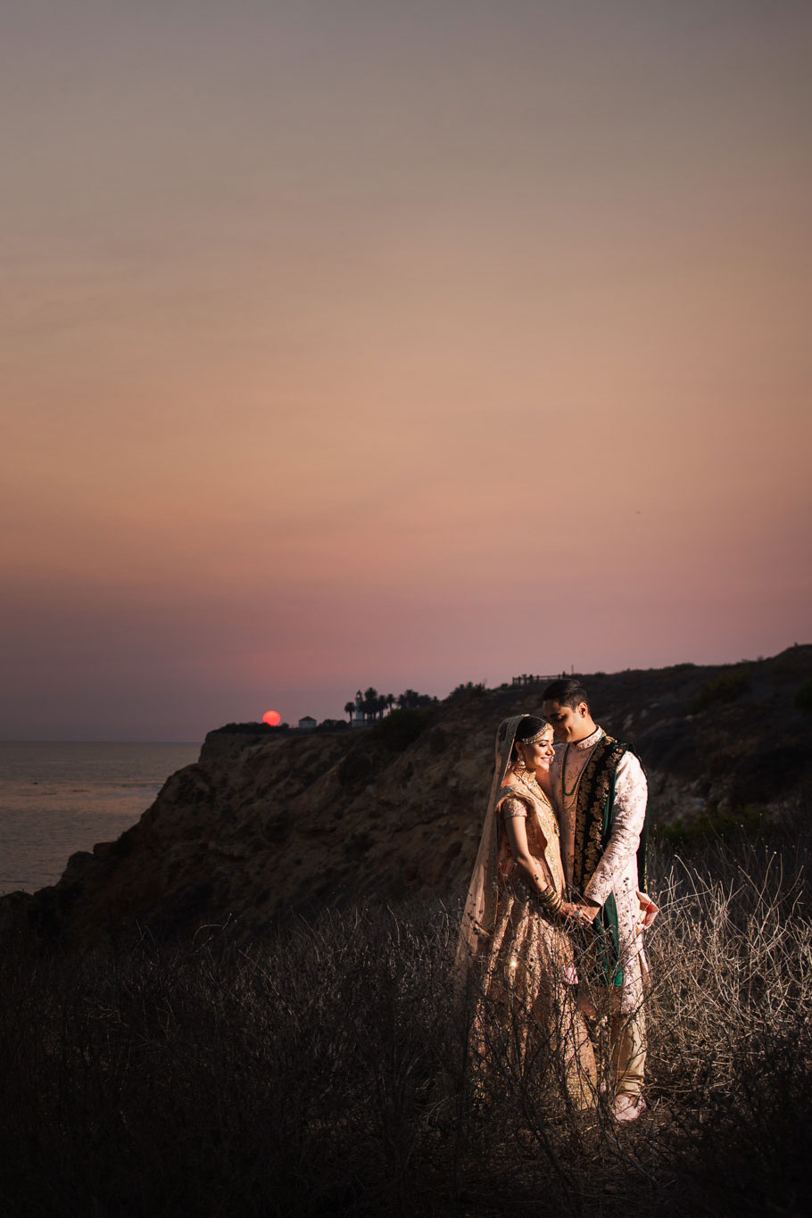 001 terranea resort sunset indian wedding photography