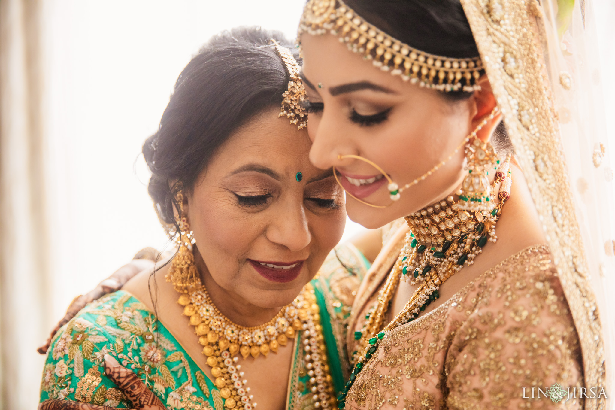 terranea resort indian wedding ceremony | leena & hiral