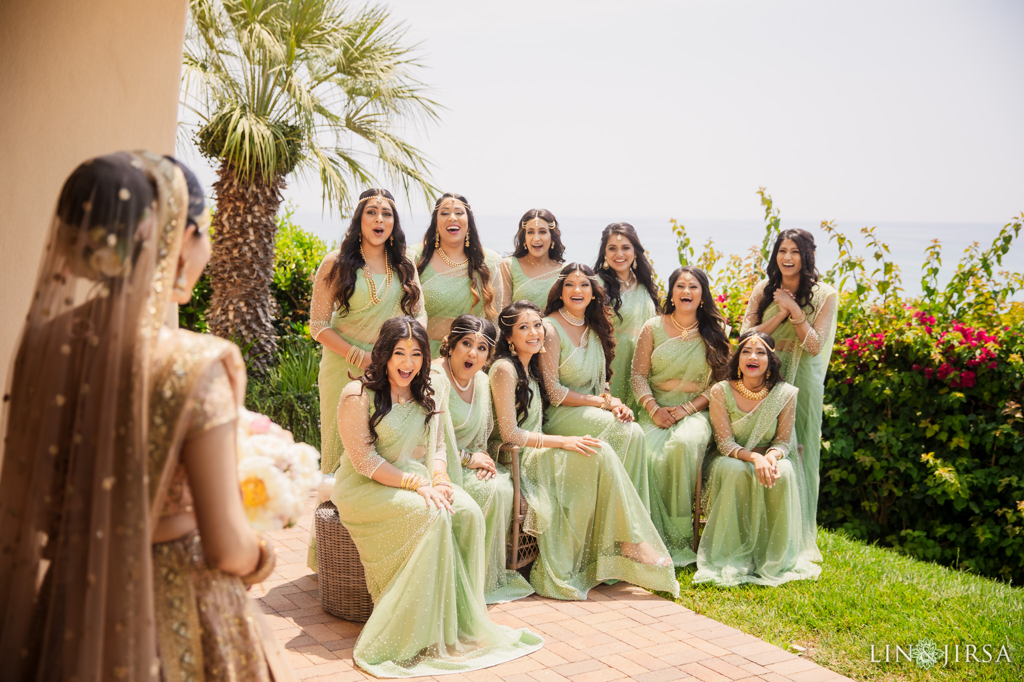 009 terranea resort palos verdes indian bridesmaids wedding photography