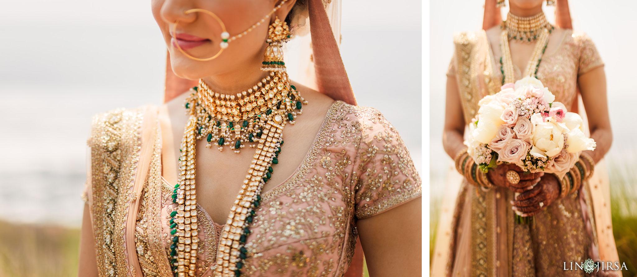 012 terranea resort palos verdes indian bride wedding photography