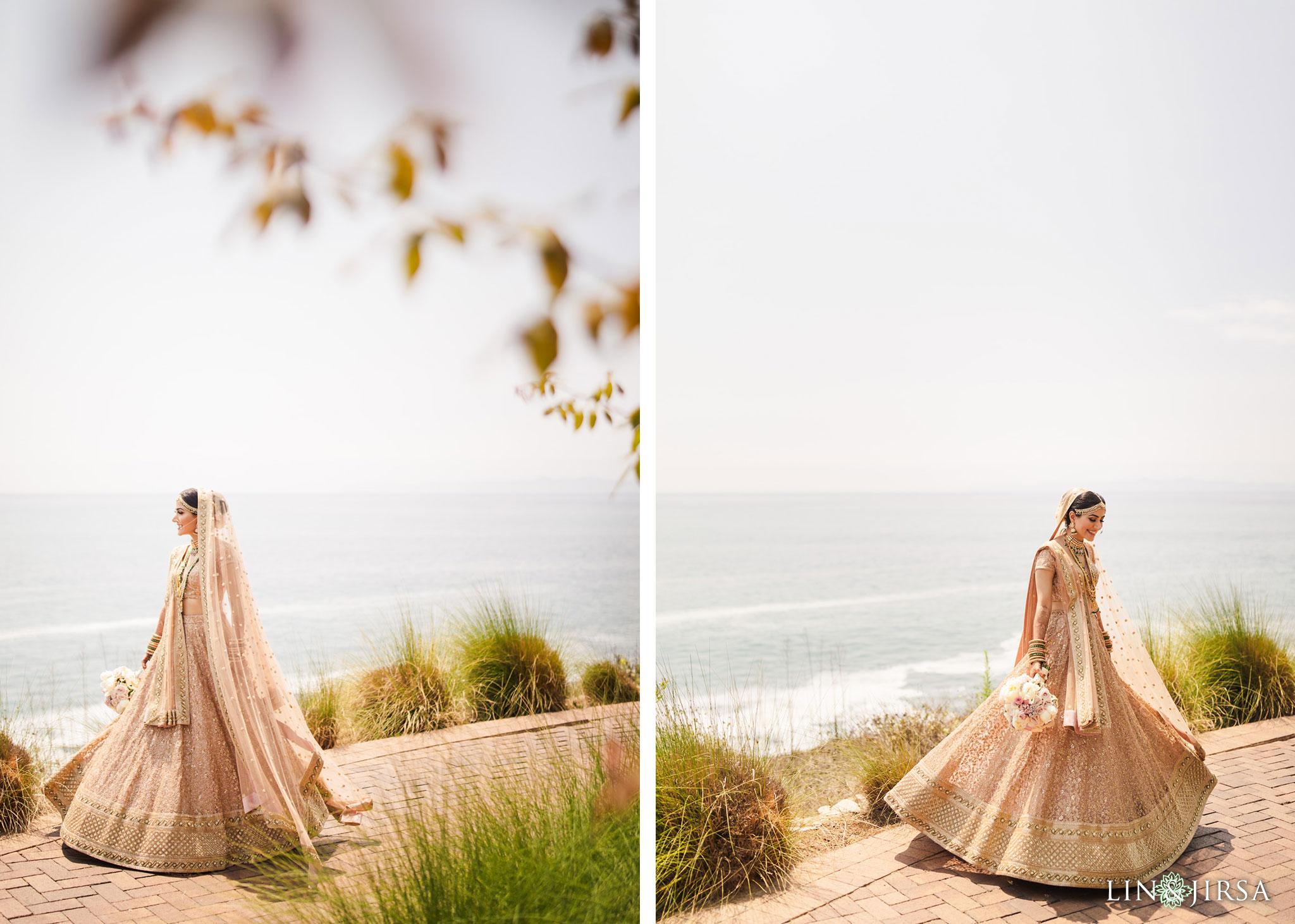 013 terranea resort palos verdes indian bride wedding photography