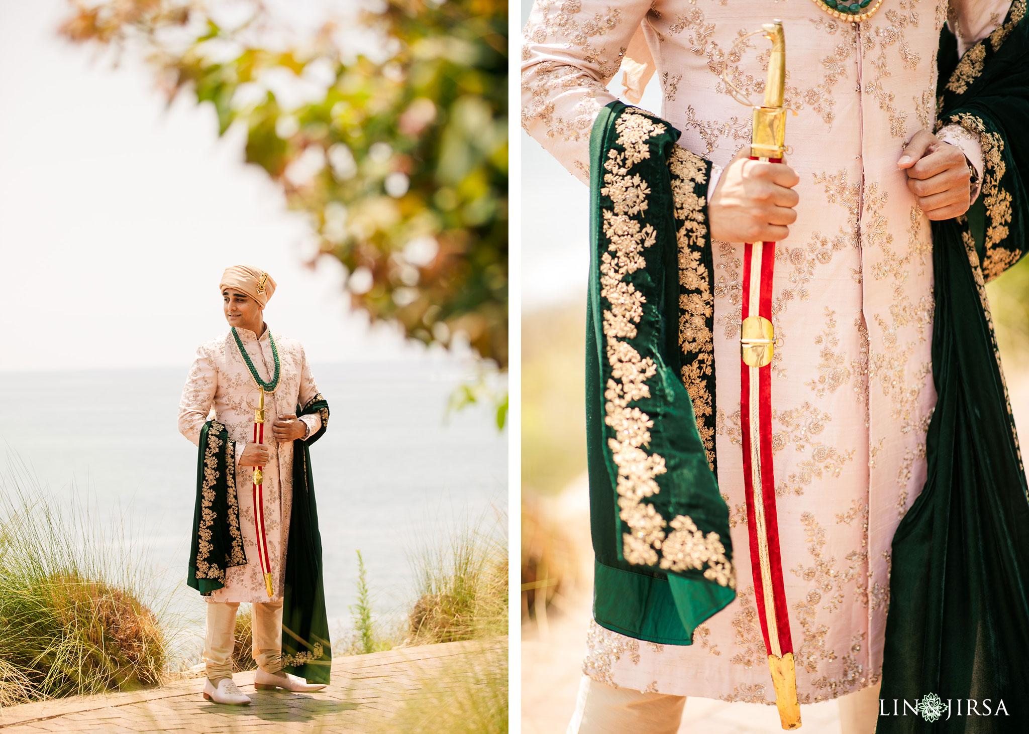 017 terranea resort palos verdes indian groom wedding photography