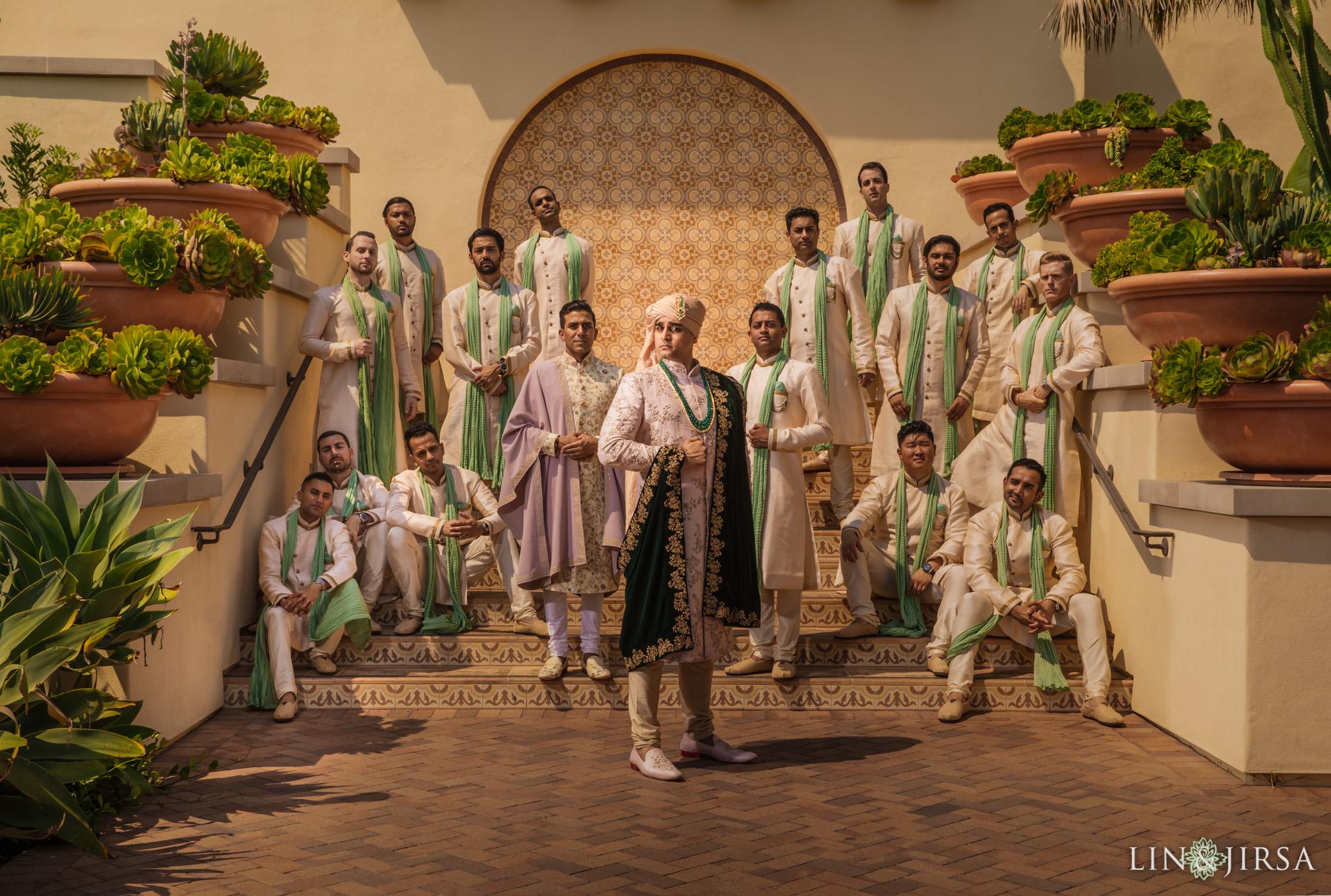 018 terranea resort palos verdes indian groom wedding photography