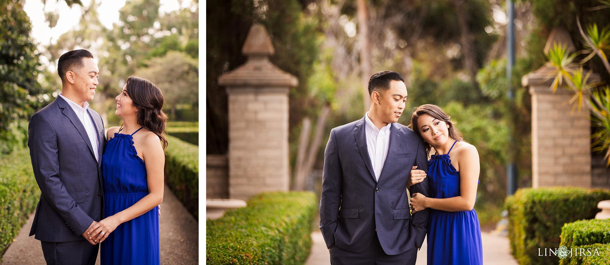 02 balboa park san diego engagement photography