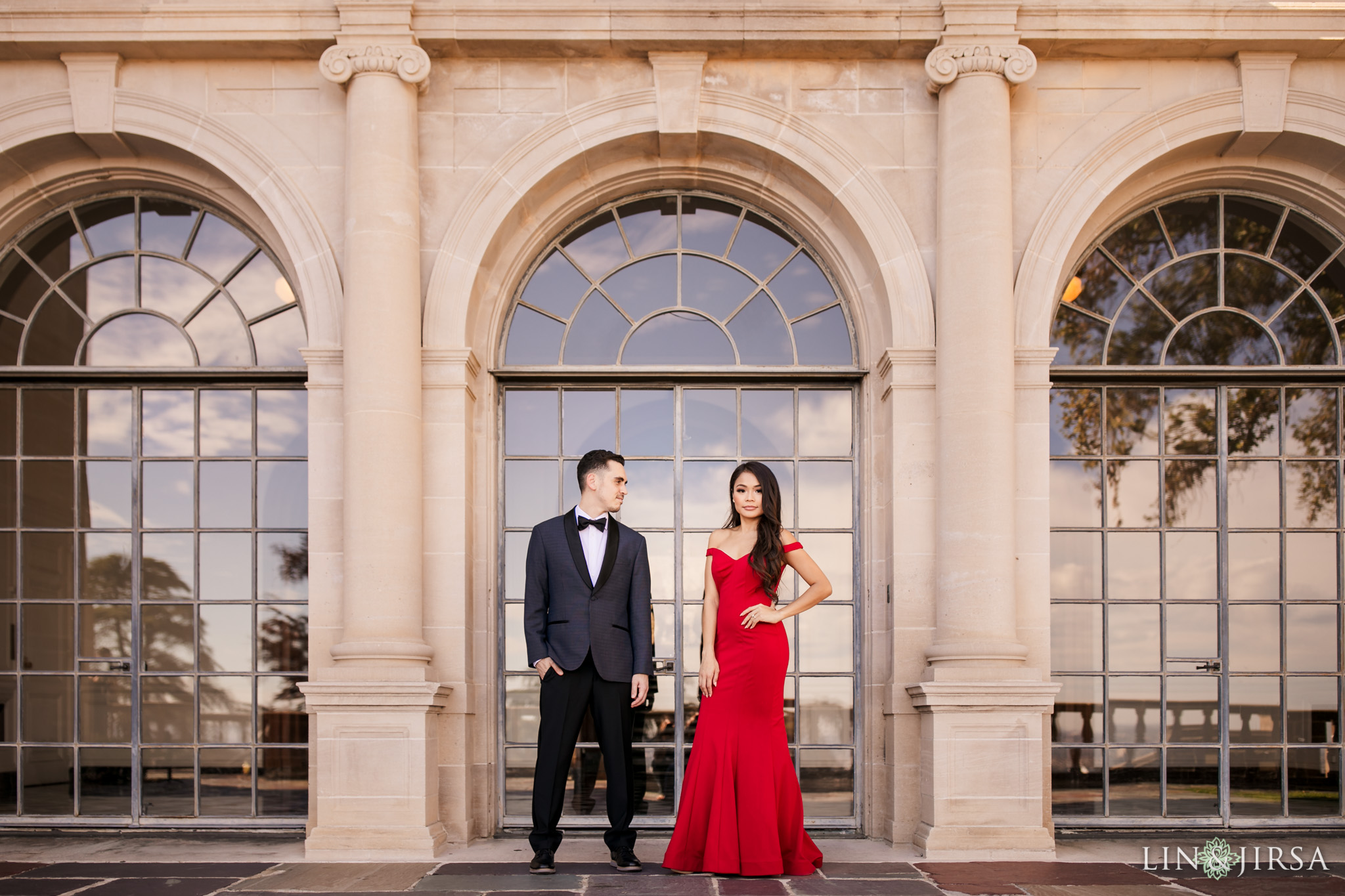 02 greystone mansion beverly hills engagement photography