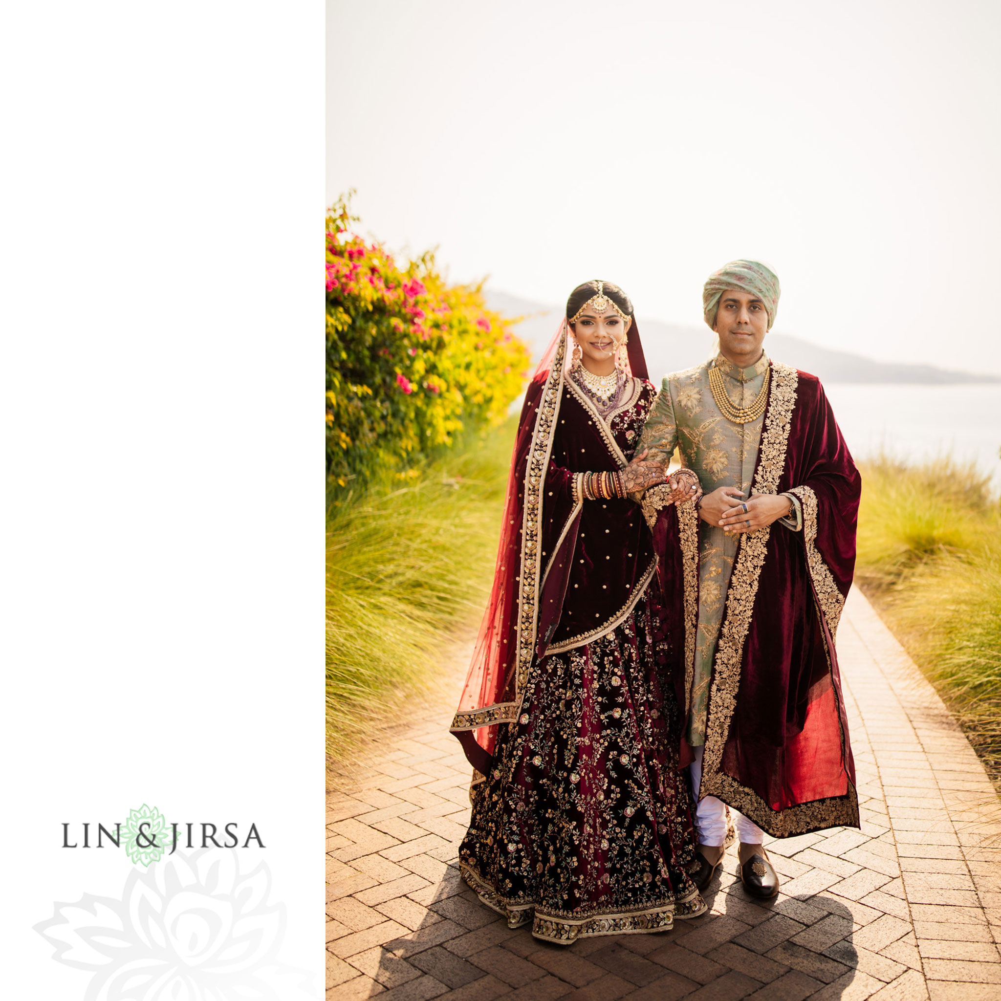 021 terranea resort indian wedding sabyasachi photography