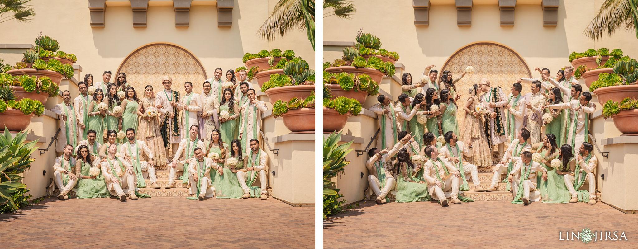 023 terranea resort palos verdes indian bridal party wedding photography