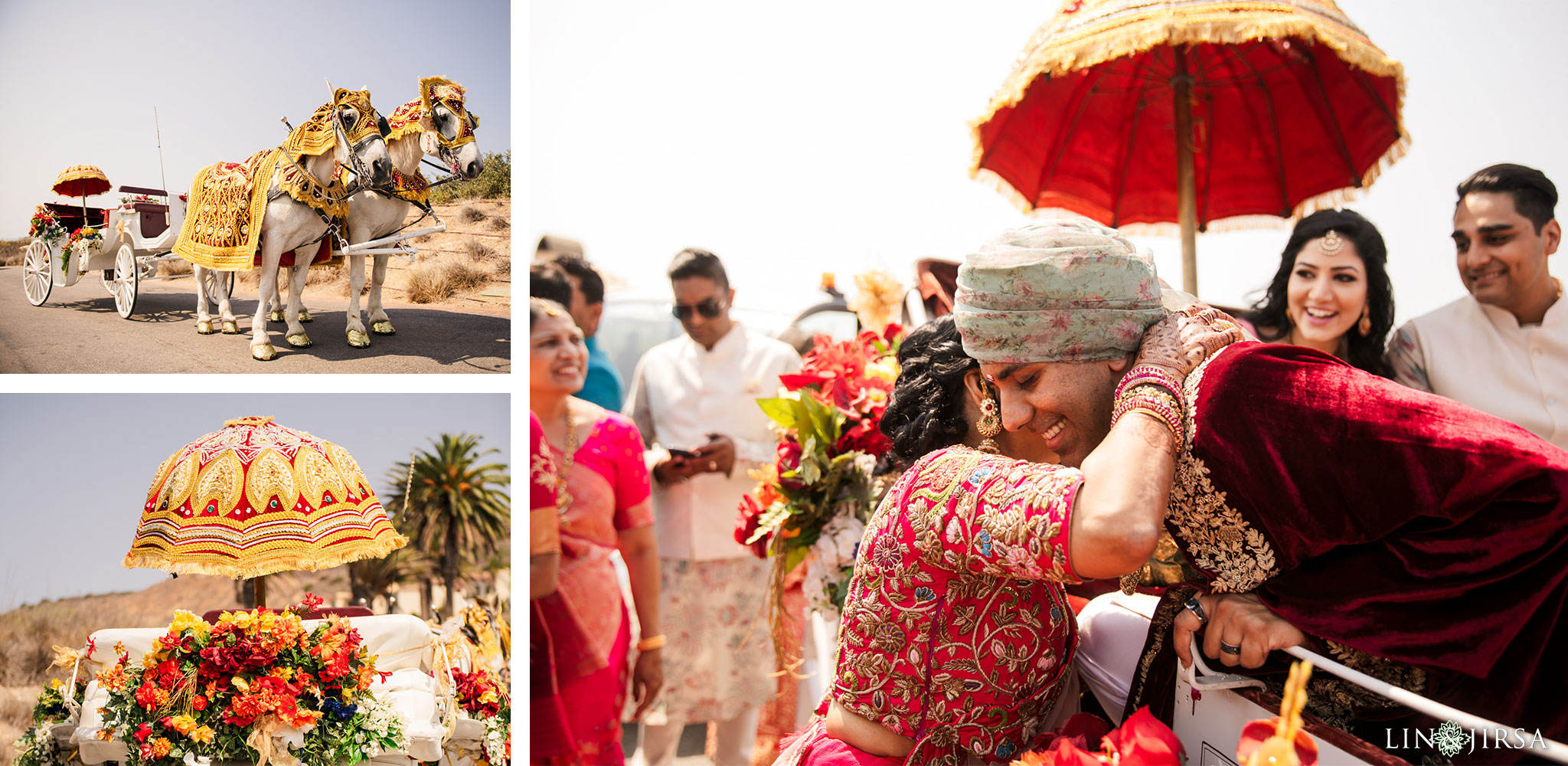 024 terranea resort rancho palos verdes indian wedding baraat photography