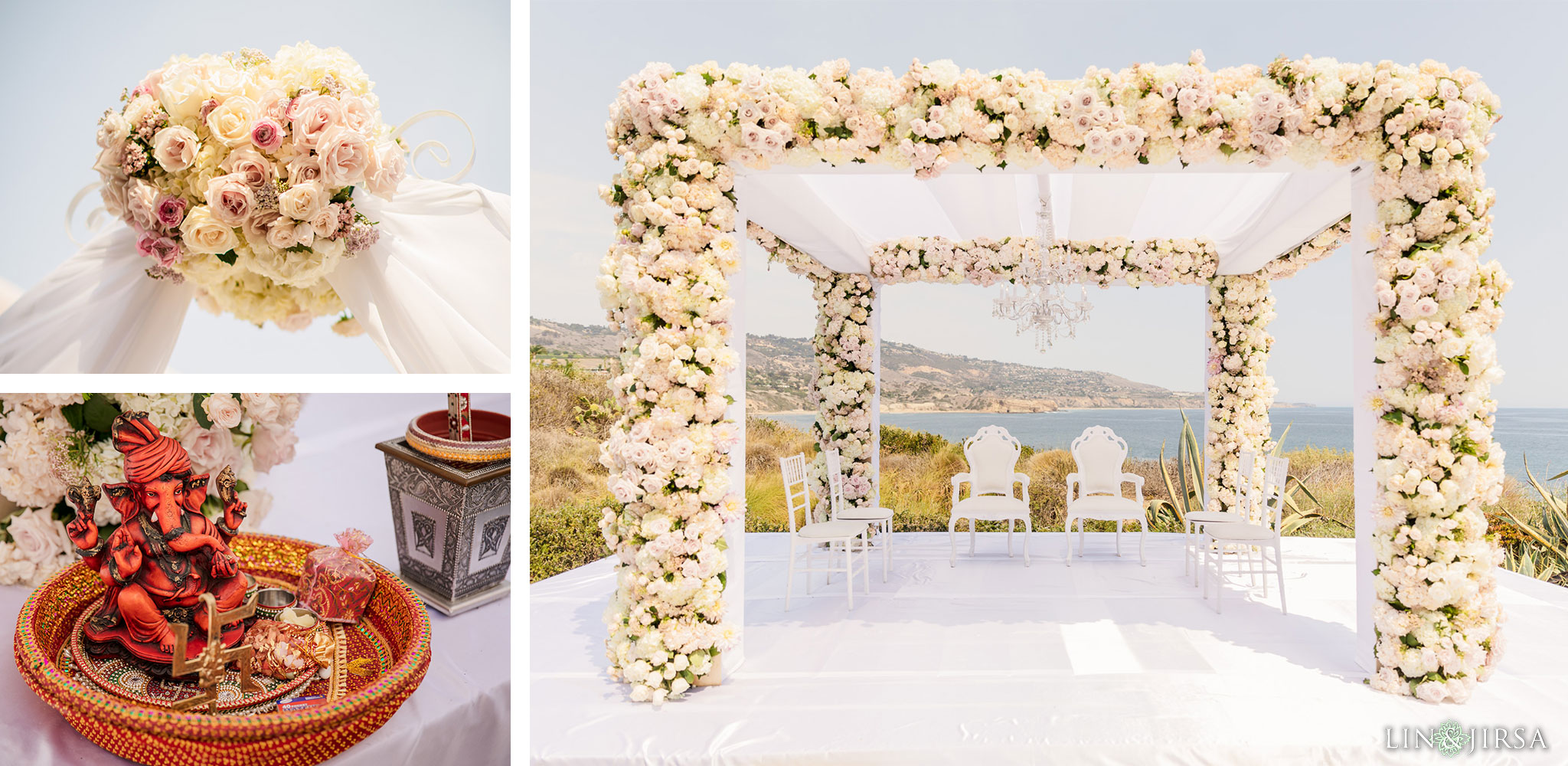 028 terranea resort palos verdes indian ceremony wedding photography