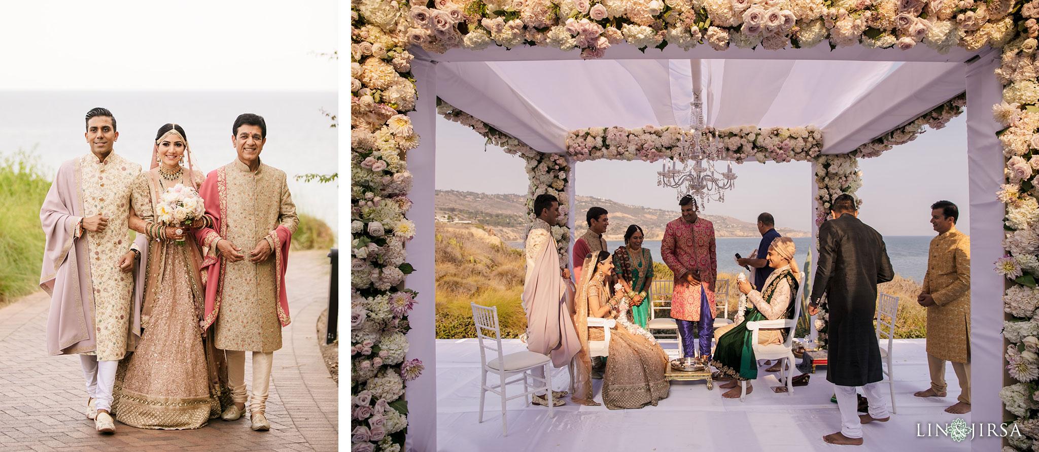 030 terranea resort palos verdes indian ceremony wedding photography