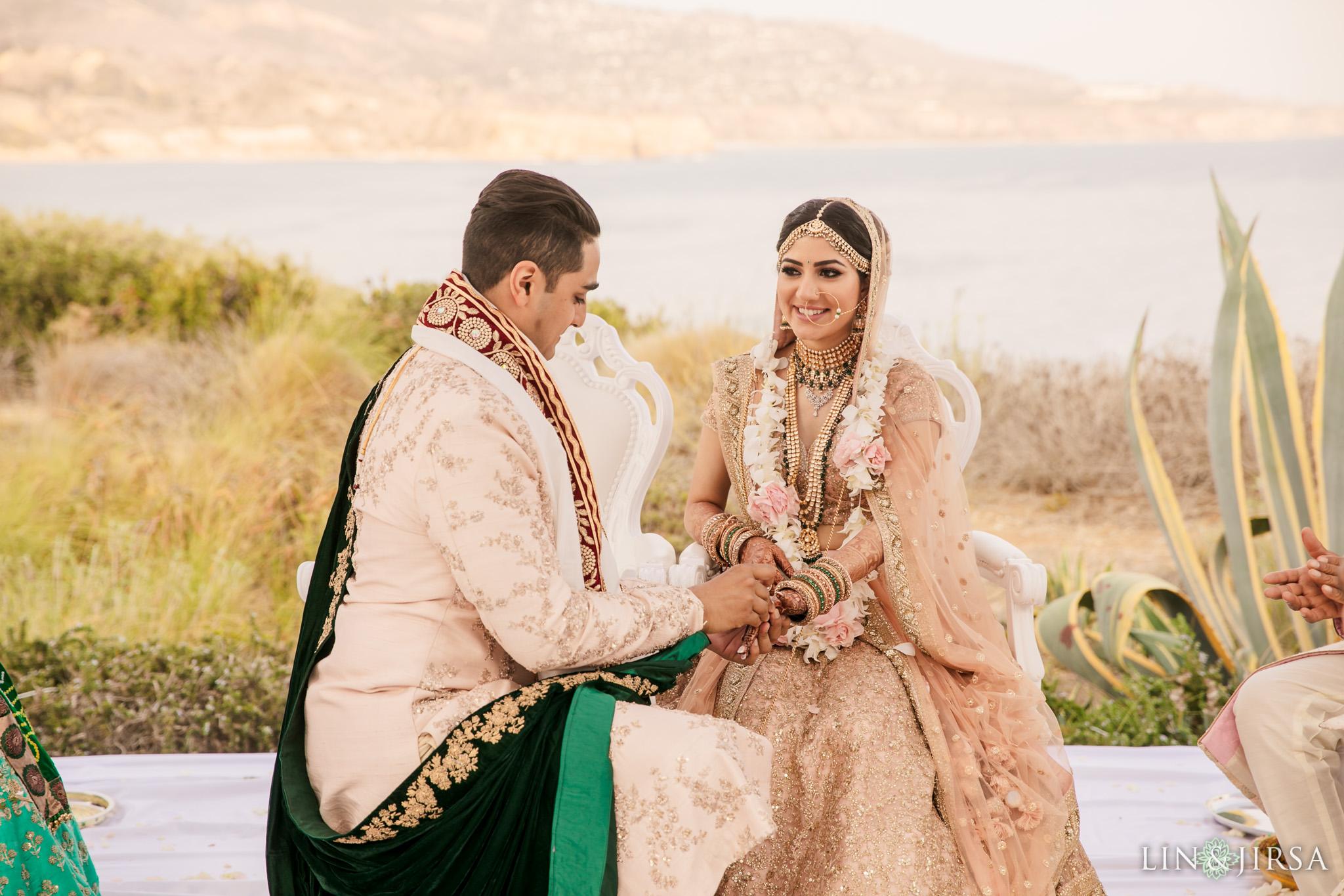 032 terranea resort palos verdes indian ceremony wedding photography