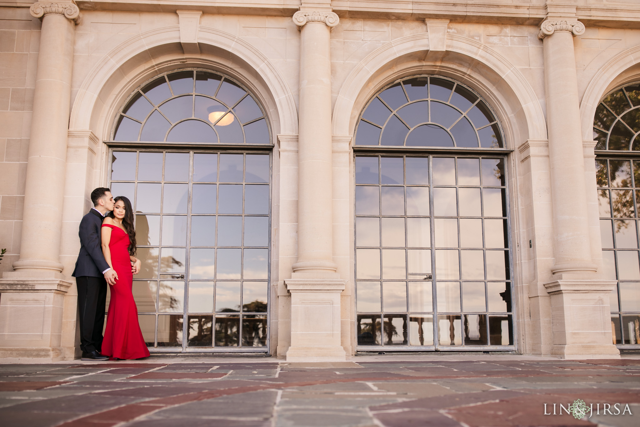 04 greystone mansion beverly hills engagement photography