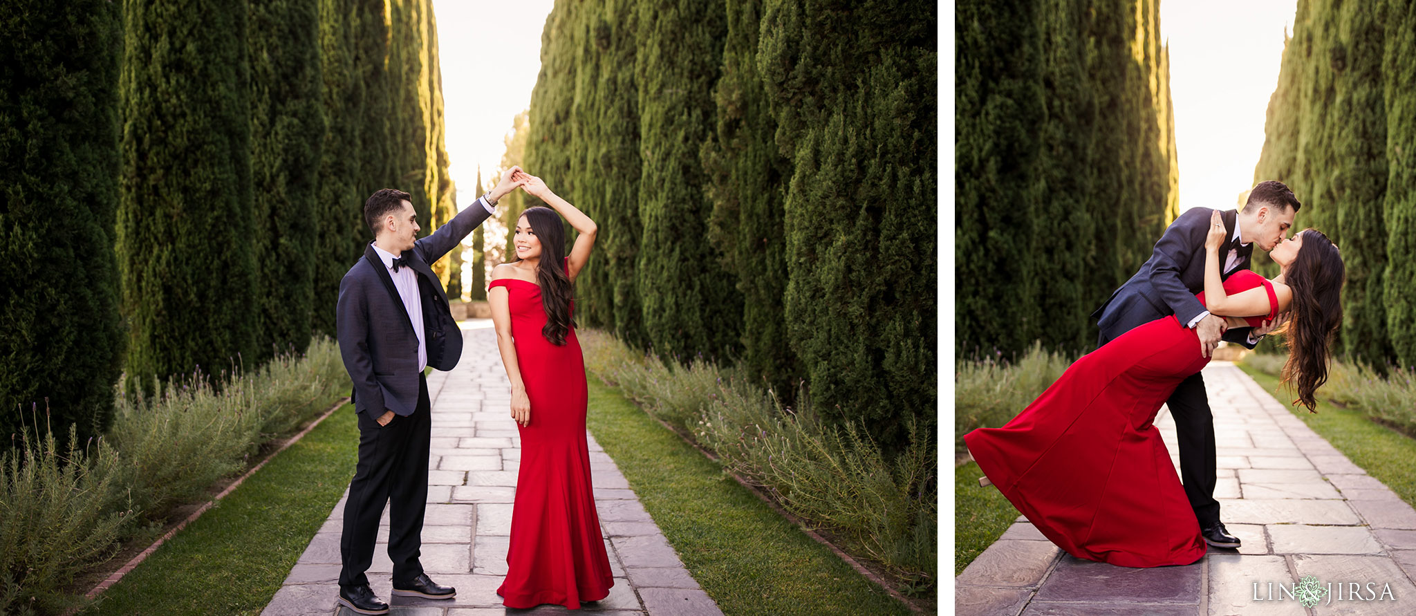 09 greystone mansion beverly hills engagement photography
