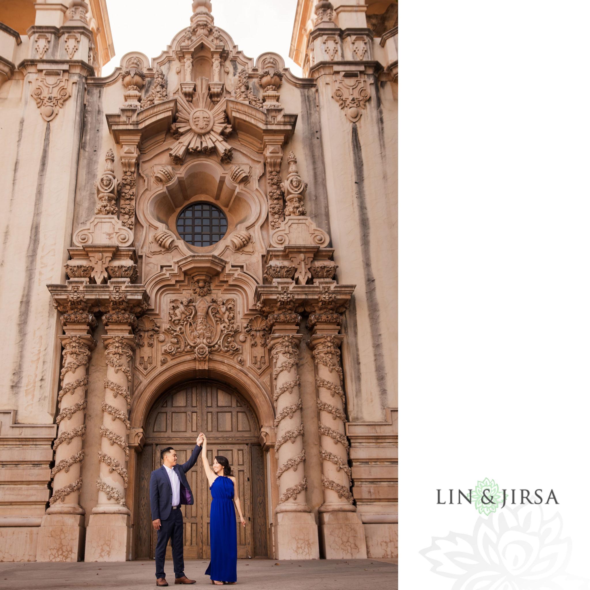 10 balboa park san diego engagement photography