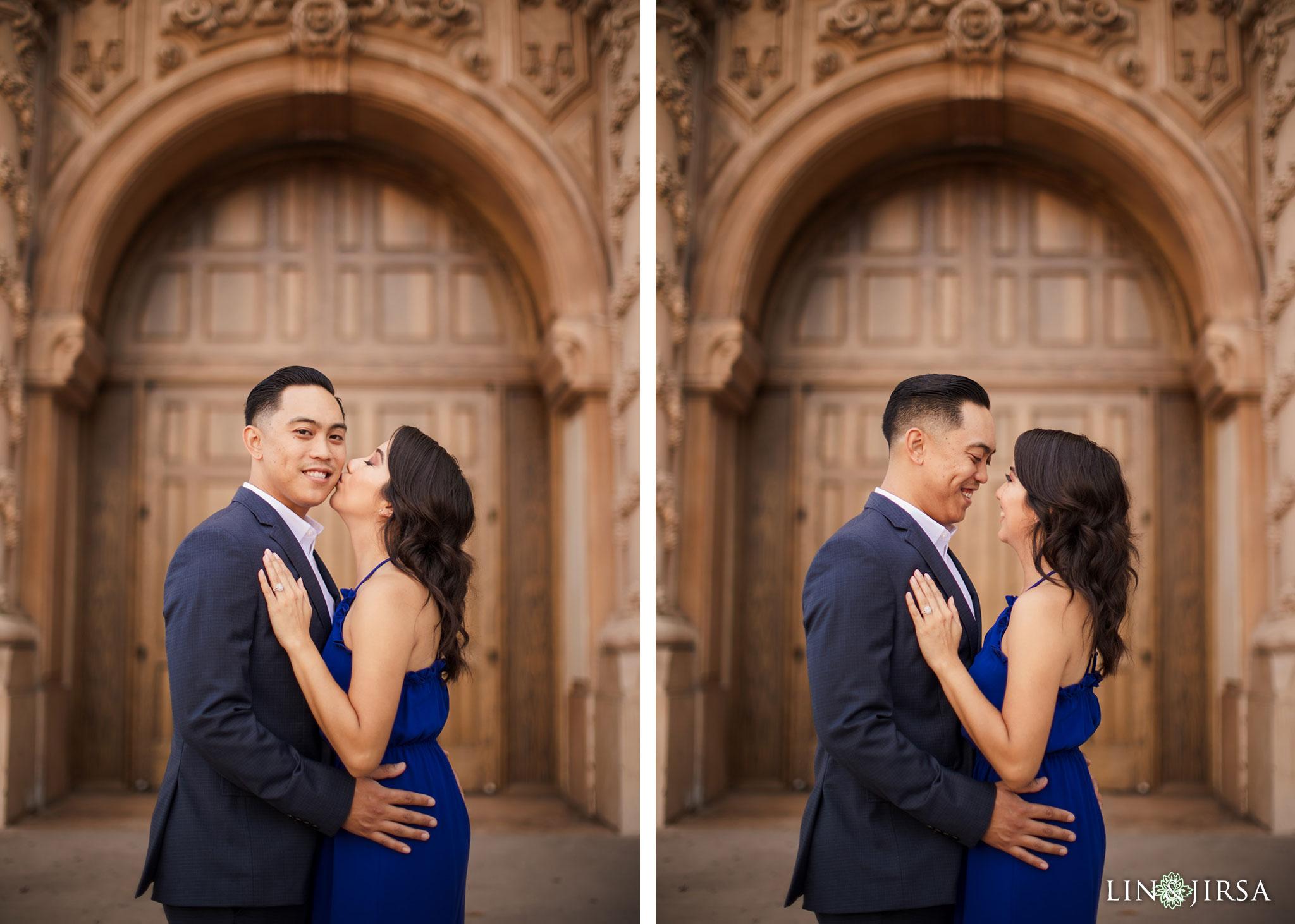 11 balboa park san diego engagement photography
