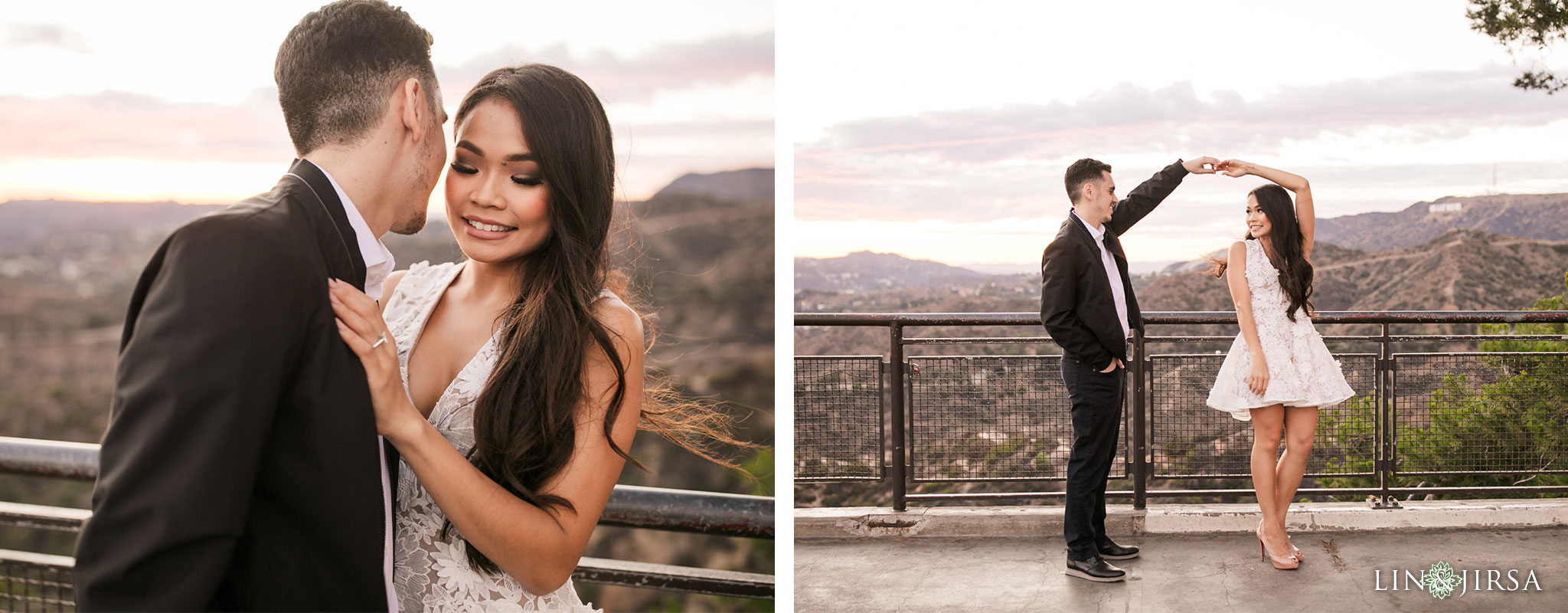 12 griffith observatory los angeles engagement photography