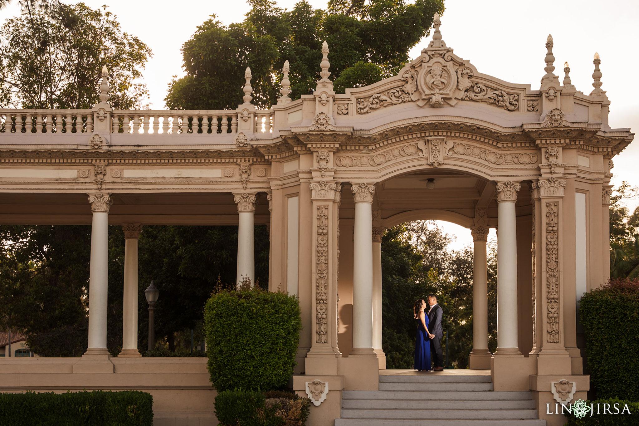 13 balboa park san diego engagement photography