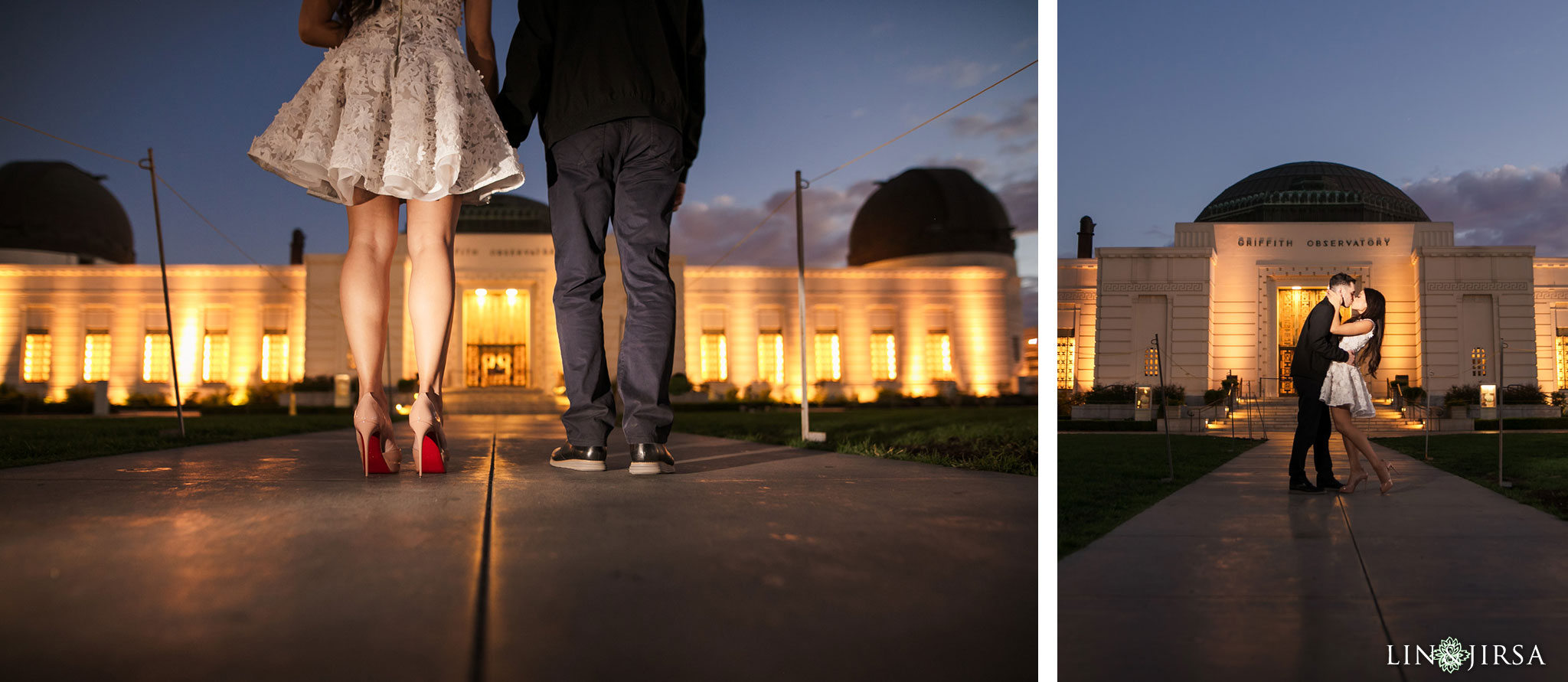 13 griffith observatory los angeles engagement photography