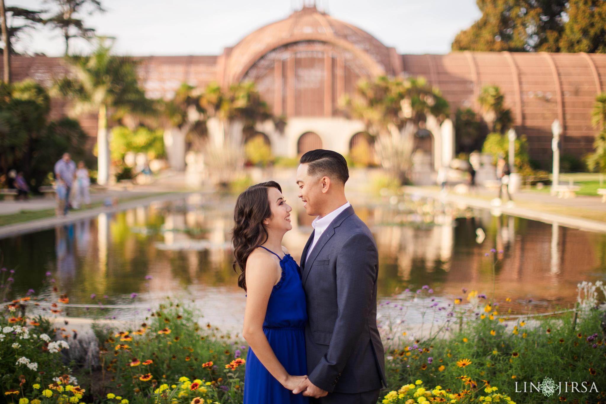 14 balboa park san diego engagement photography