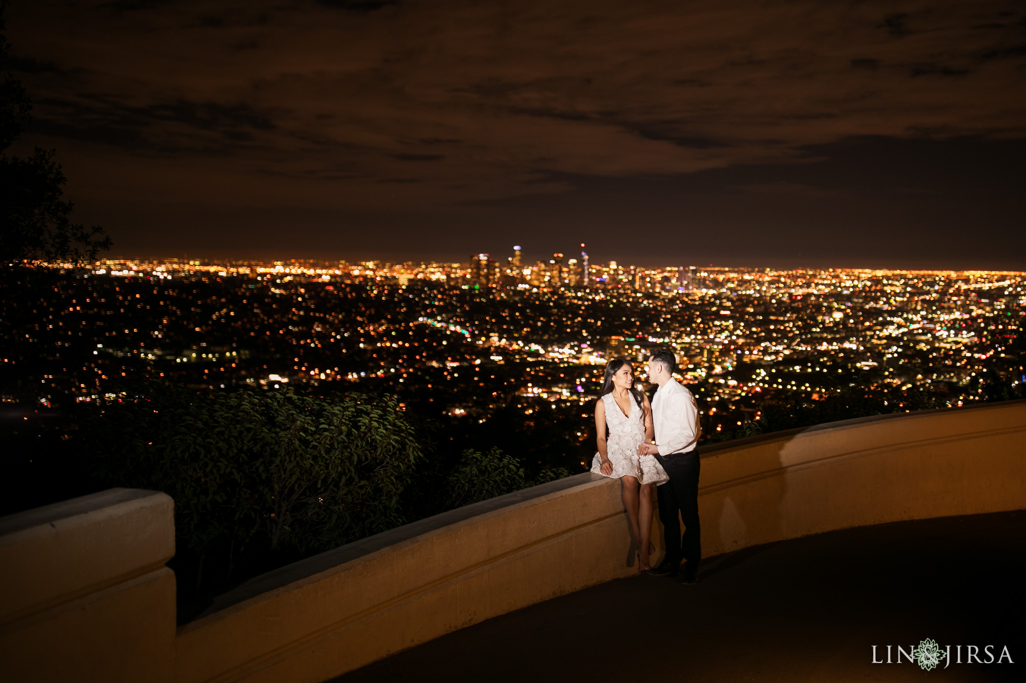 14 griffith observatory los angeles engagement photography