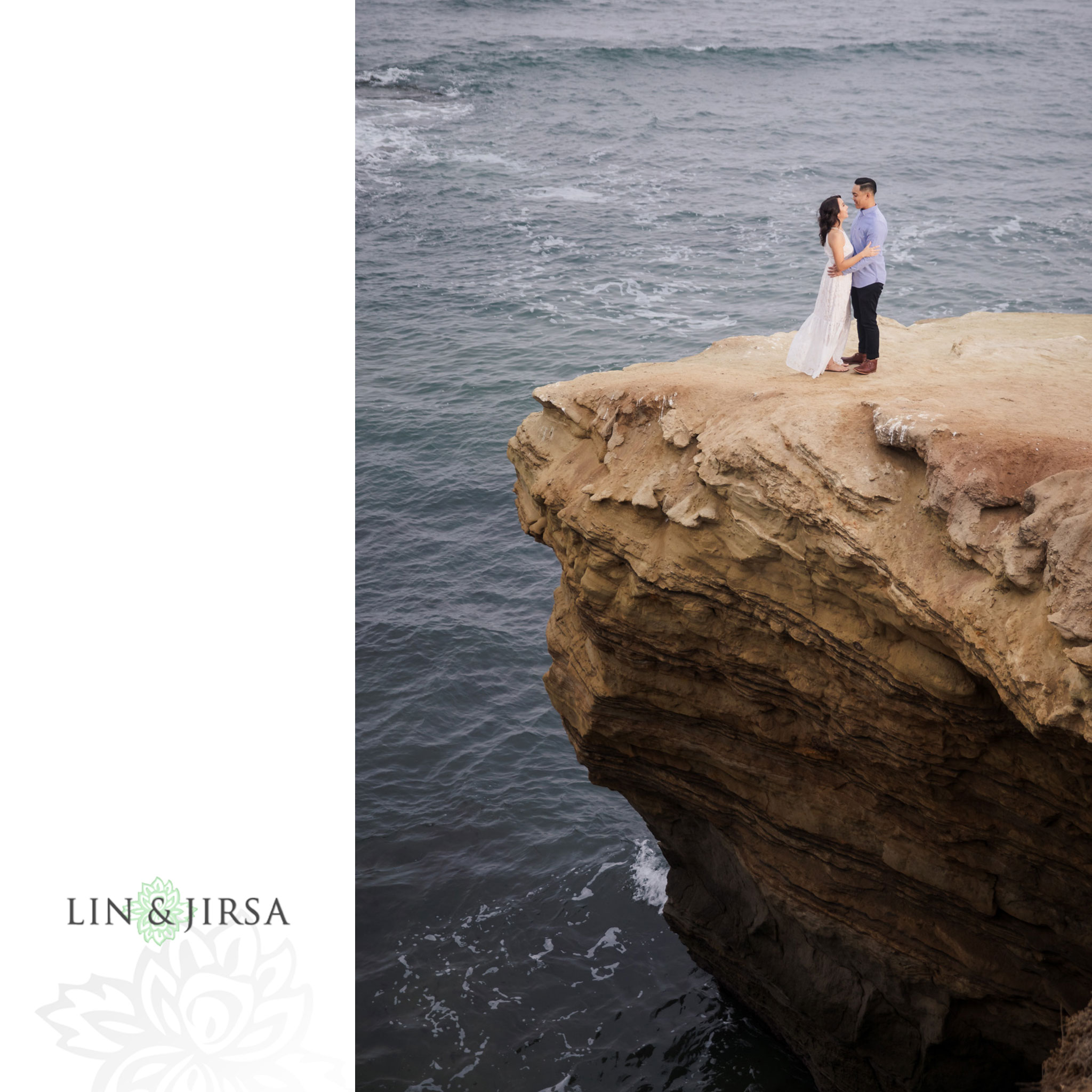 15 san diego beach cliffs engagement photography